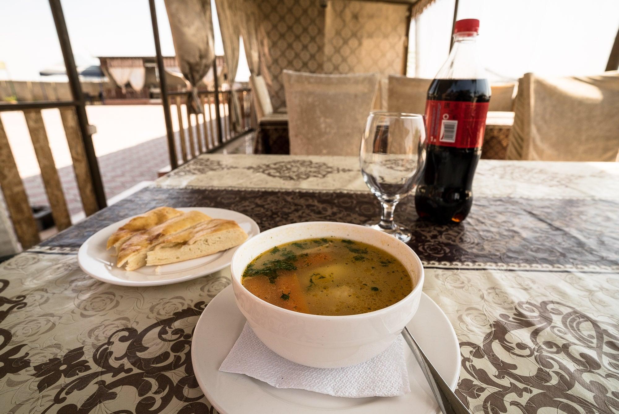 soup in Aktau