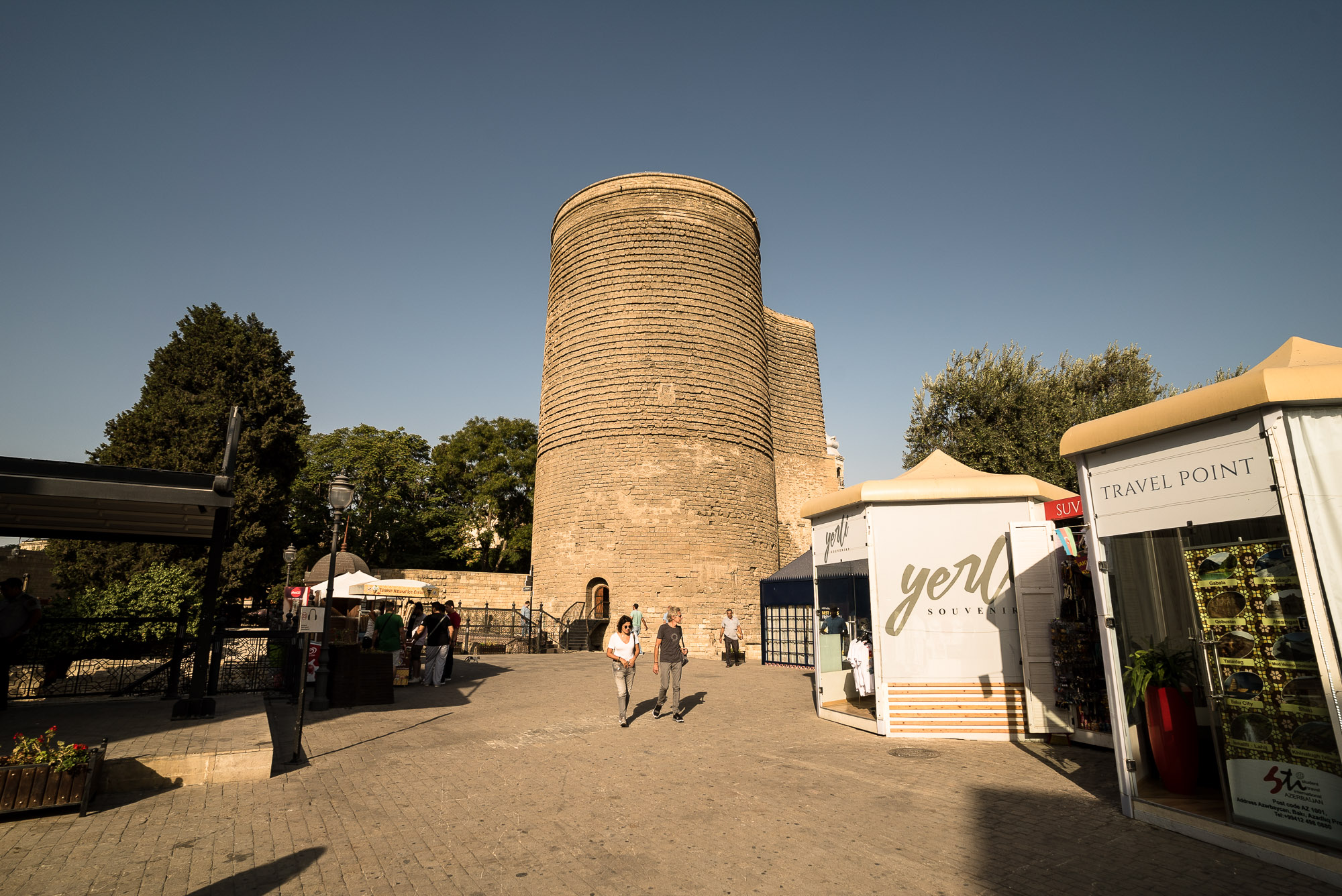 Maiden Tower and square