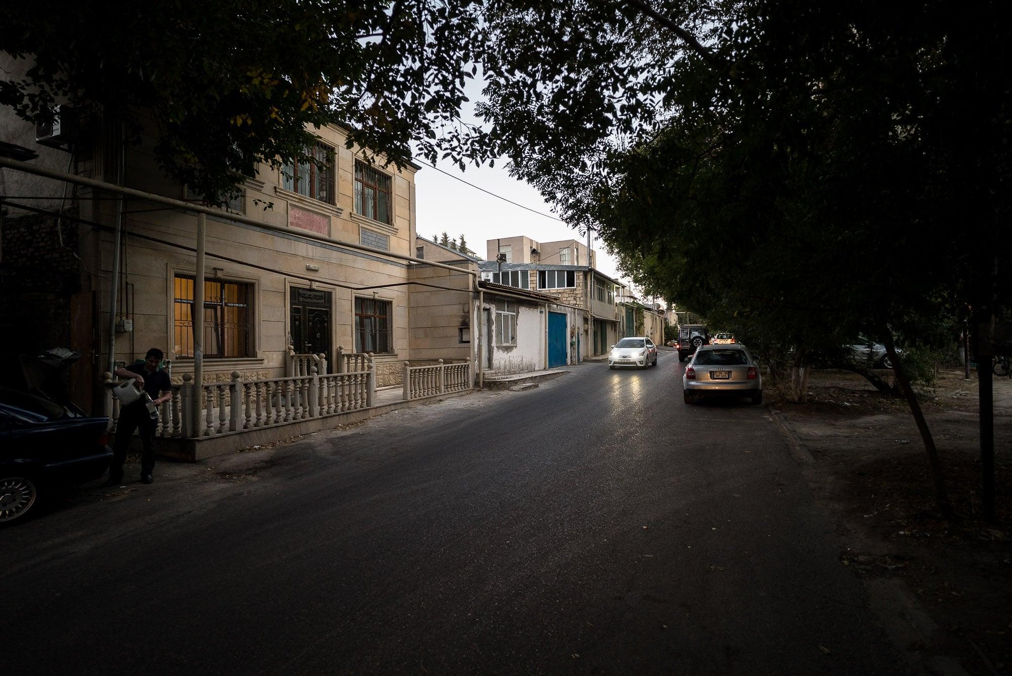 evening in Baku