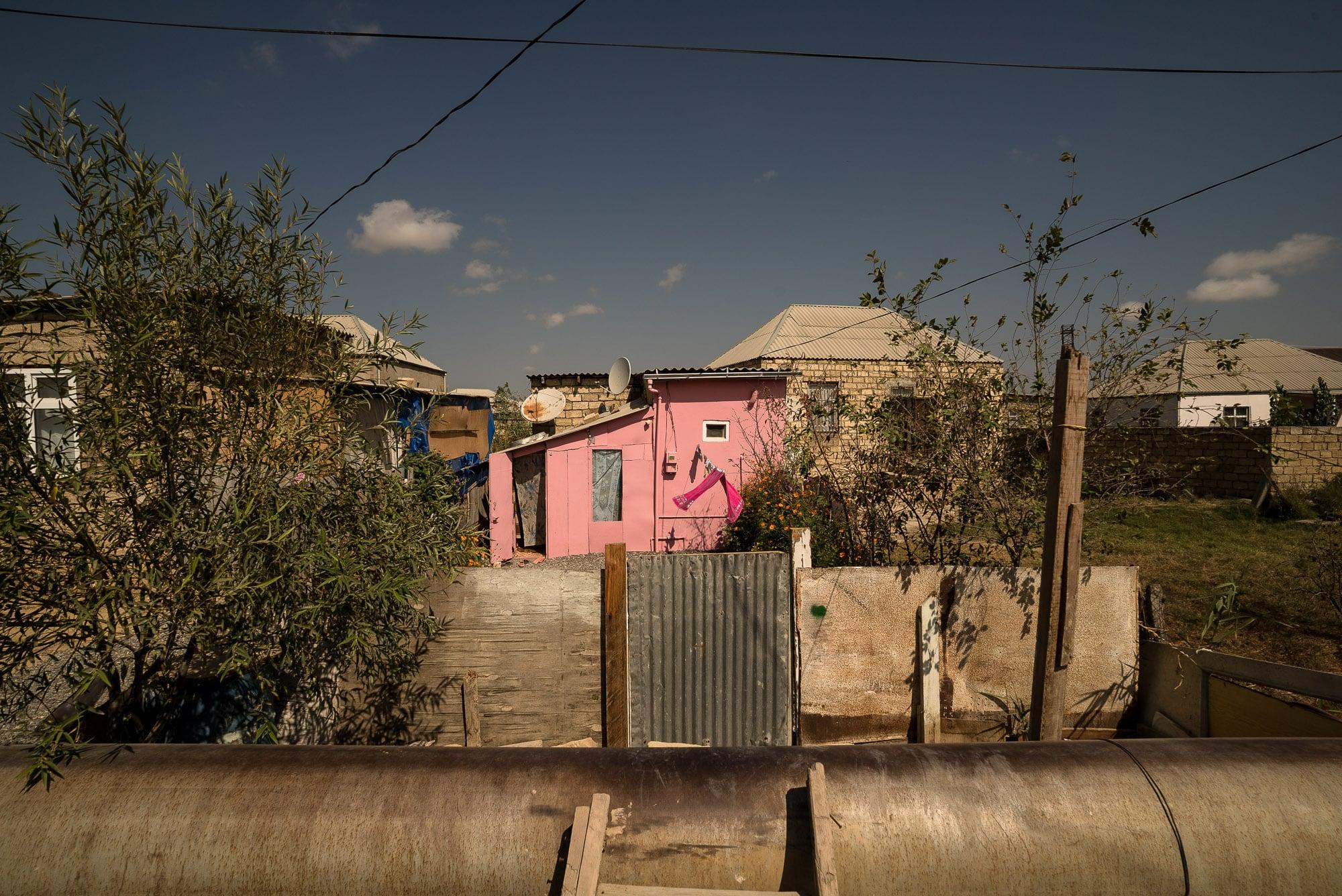little house in Baku