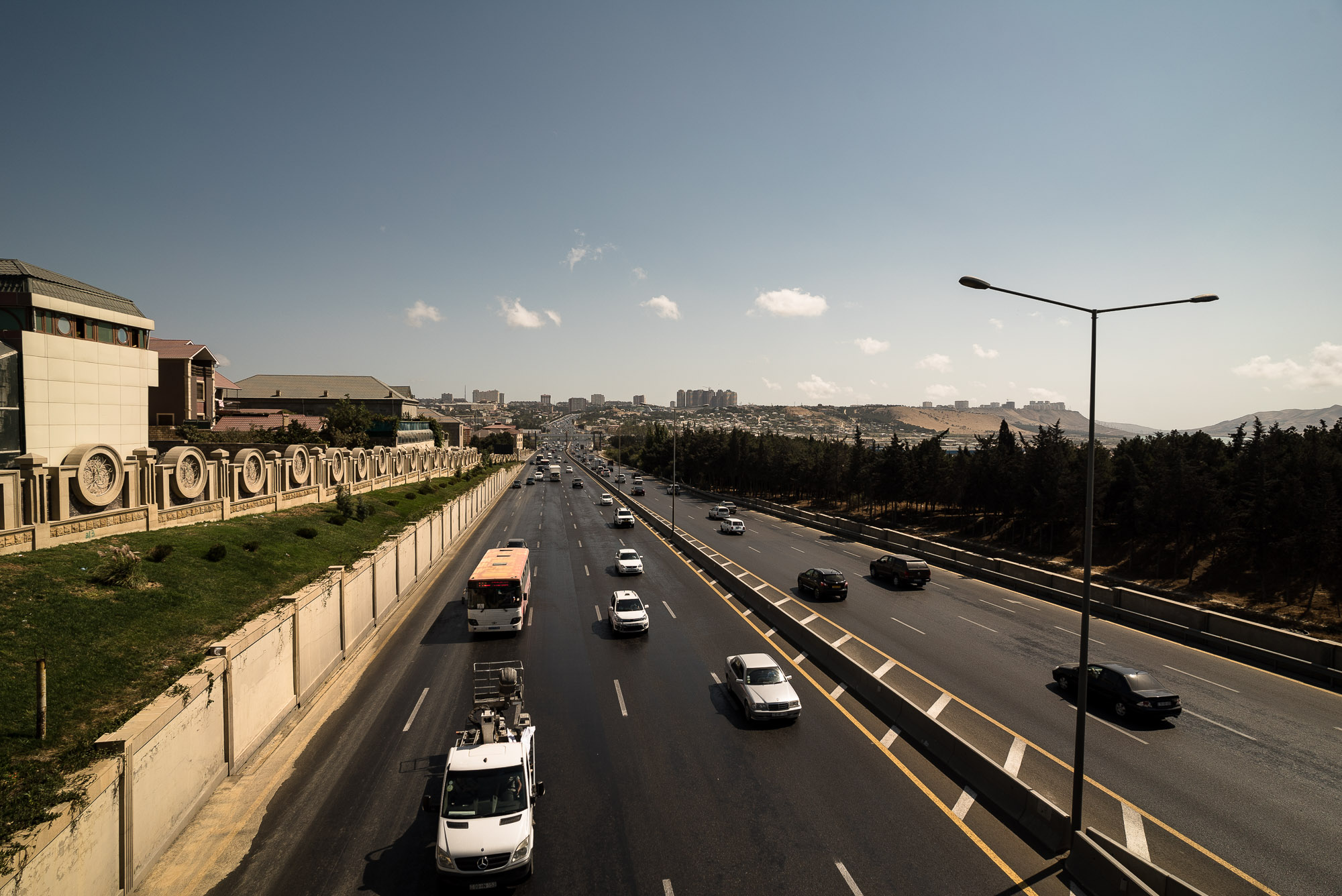 highway out of Baku