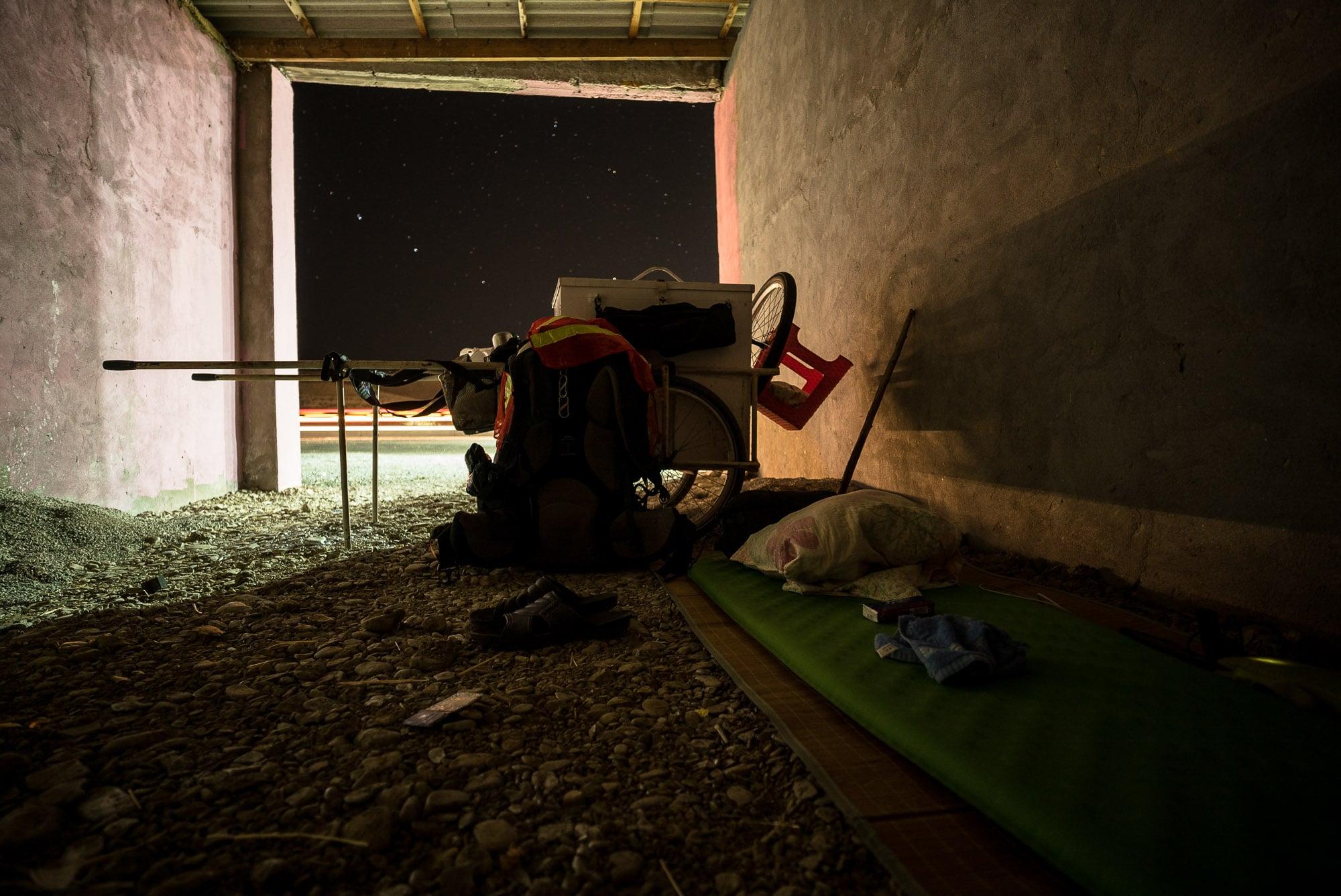 place to sleep in Jangi