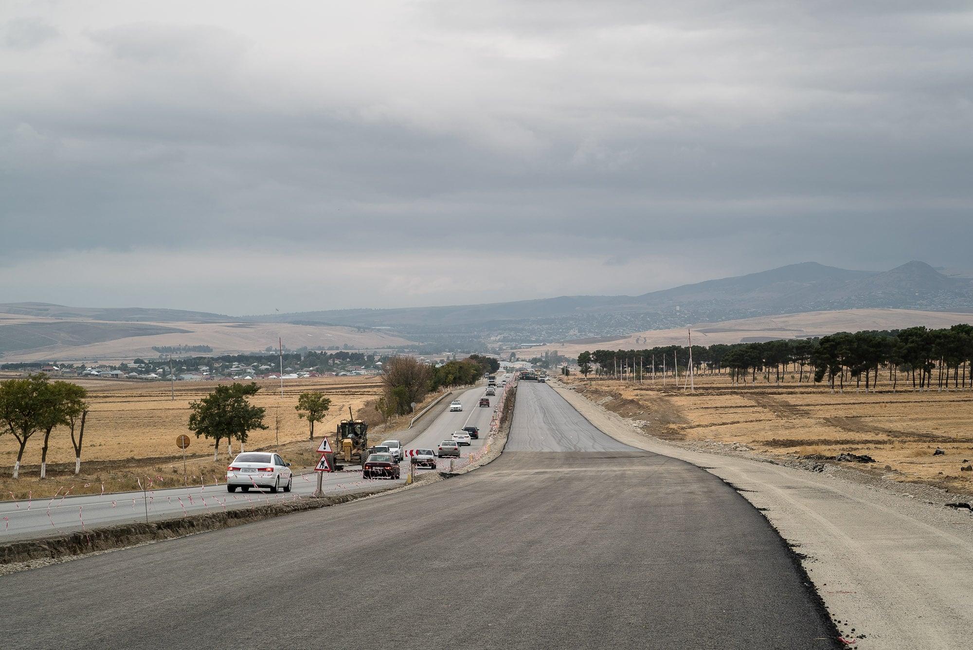road to Shamakhi