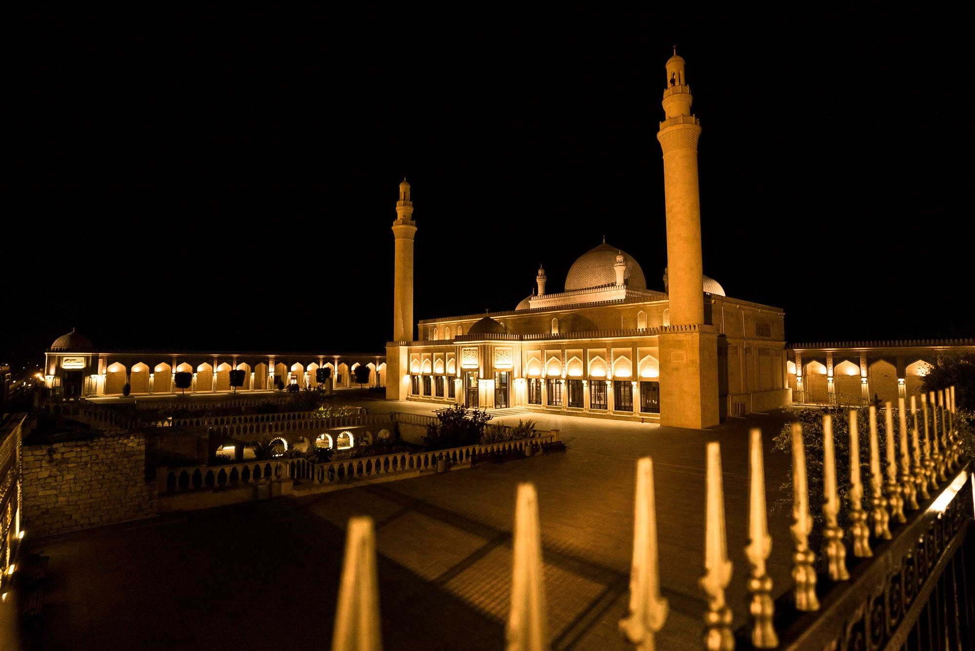 mosque in Shamakhi