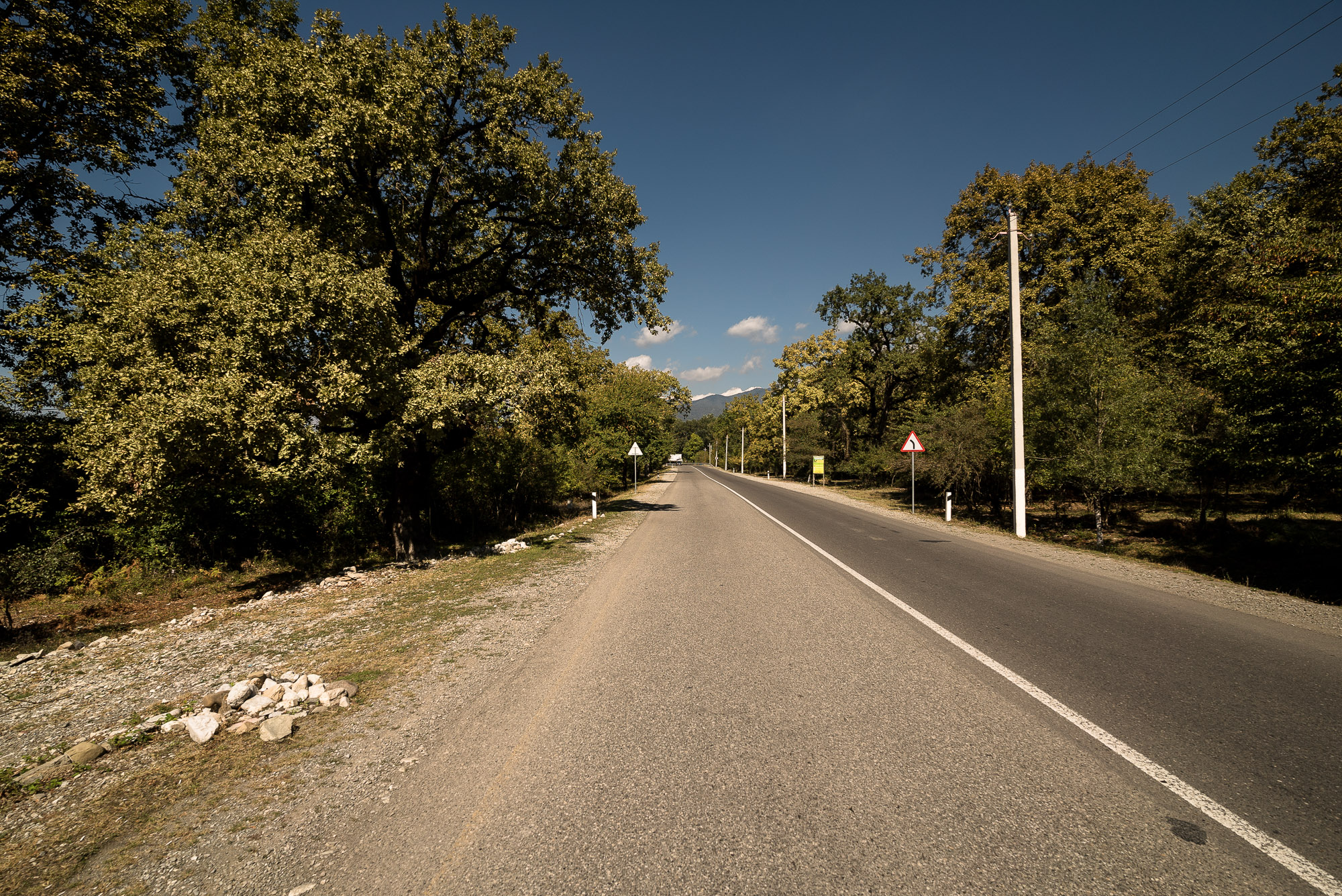 road out of Ismailli