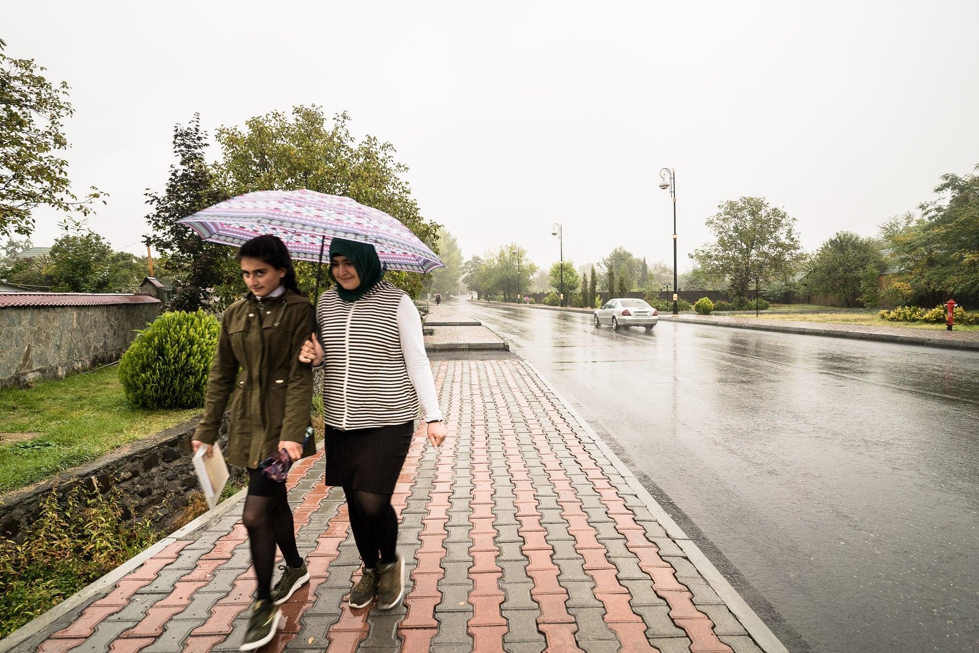 rain in Gabala