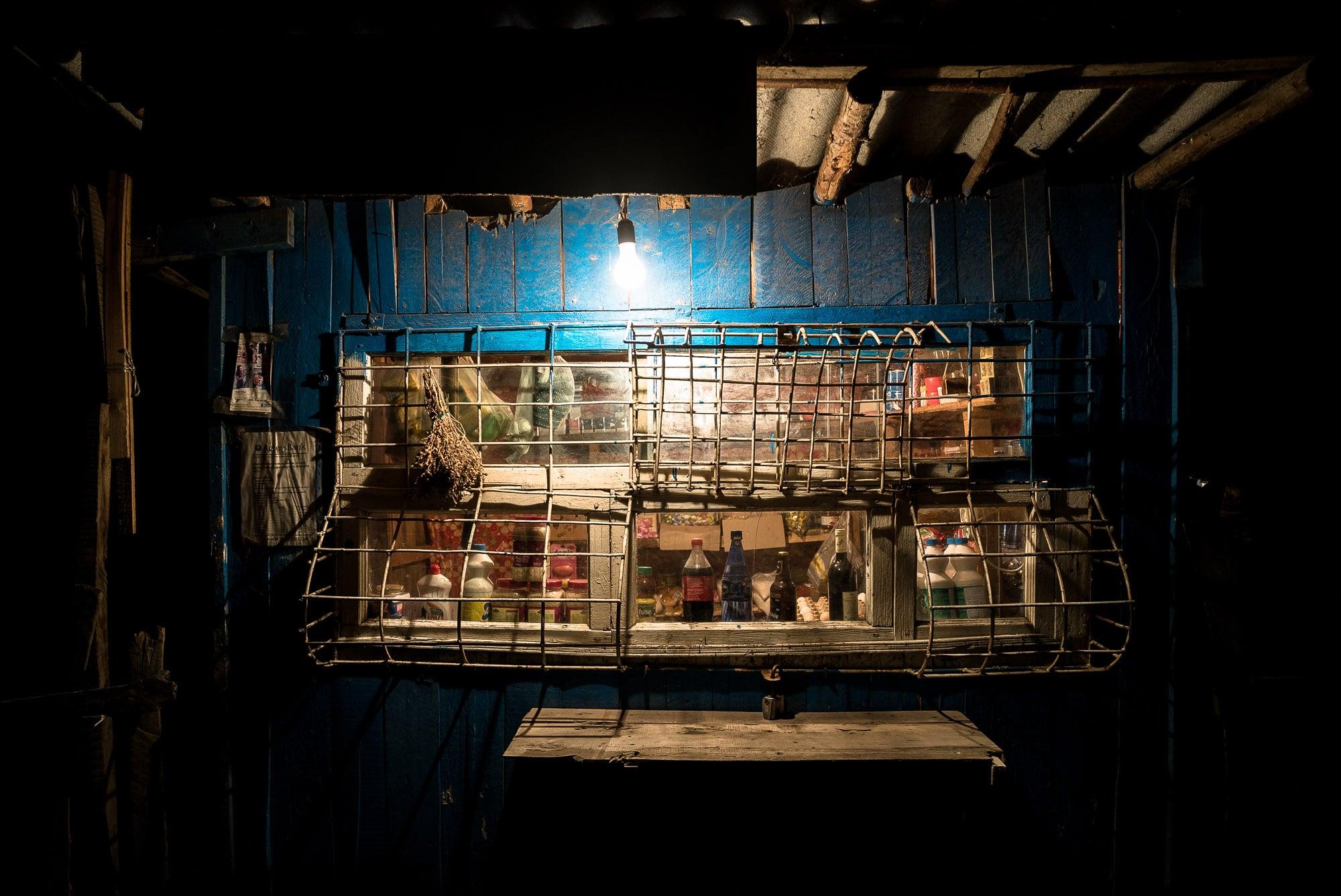 shop at night