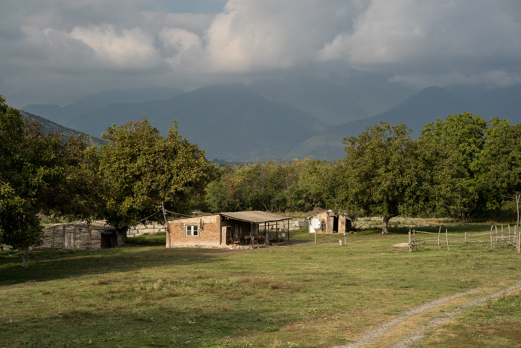 country house in the Caucasus
