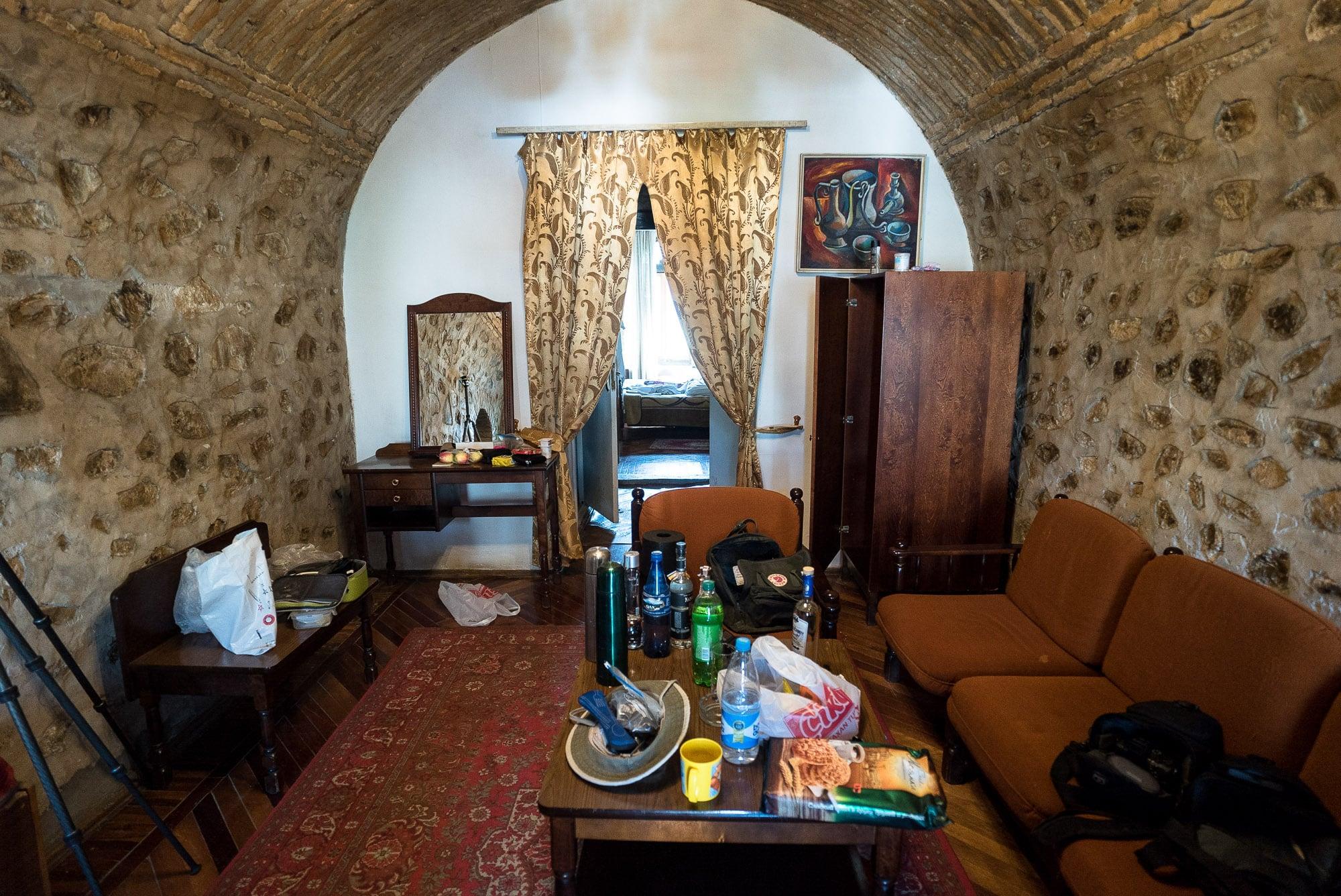 room in the Caravanserai