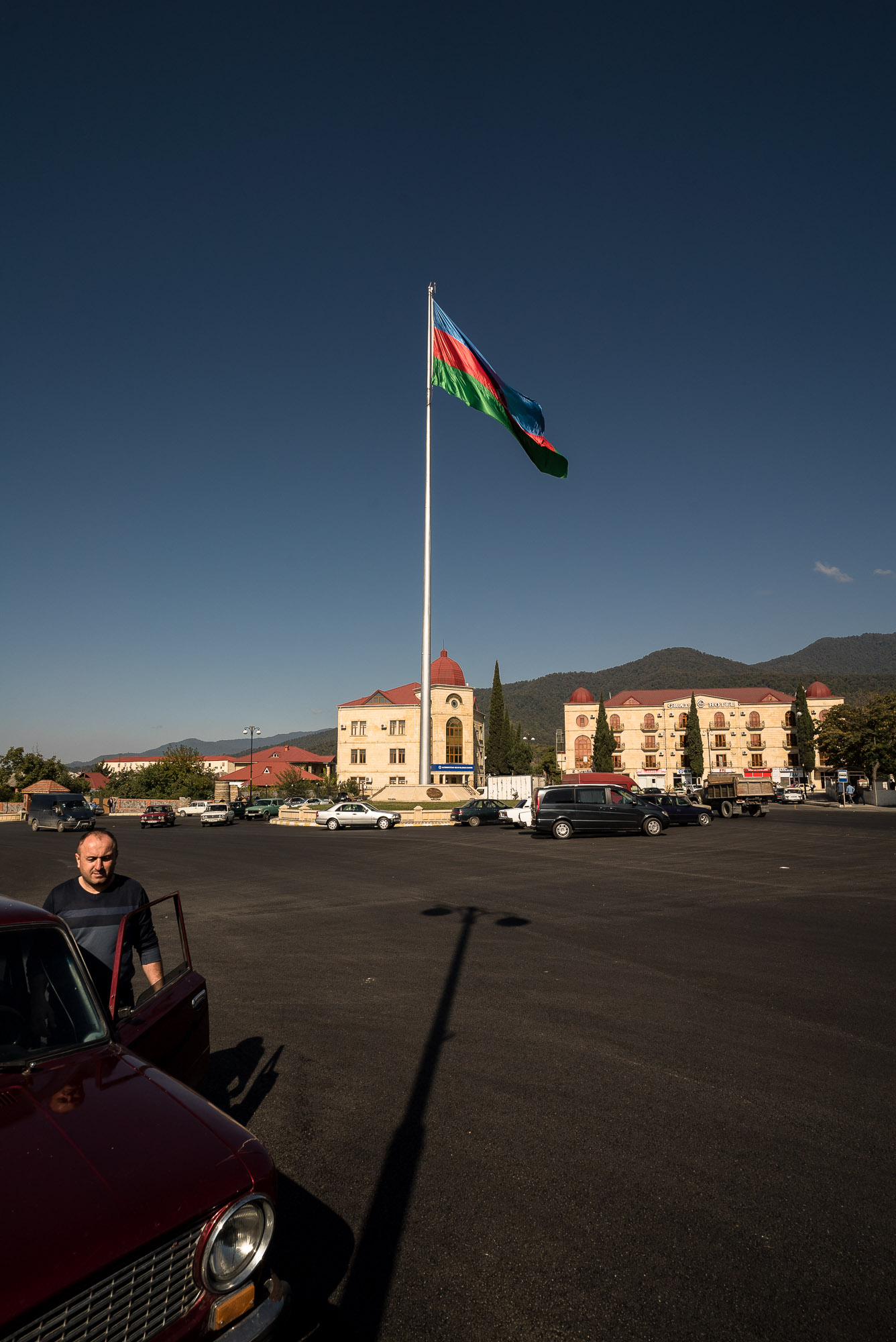 flag in Zaqatala
