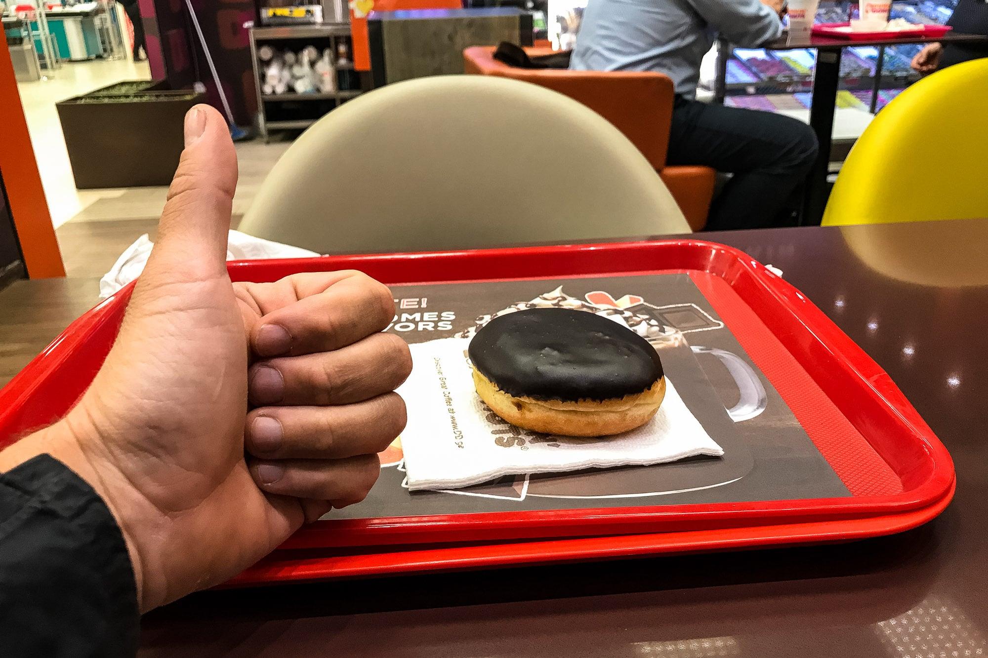 bostom creme donut