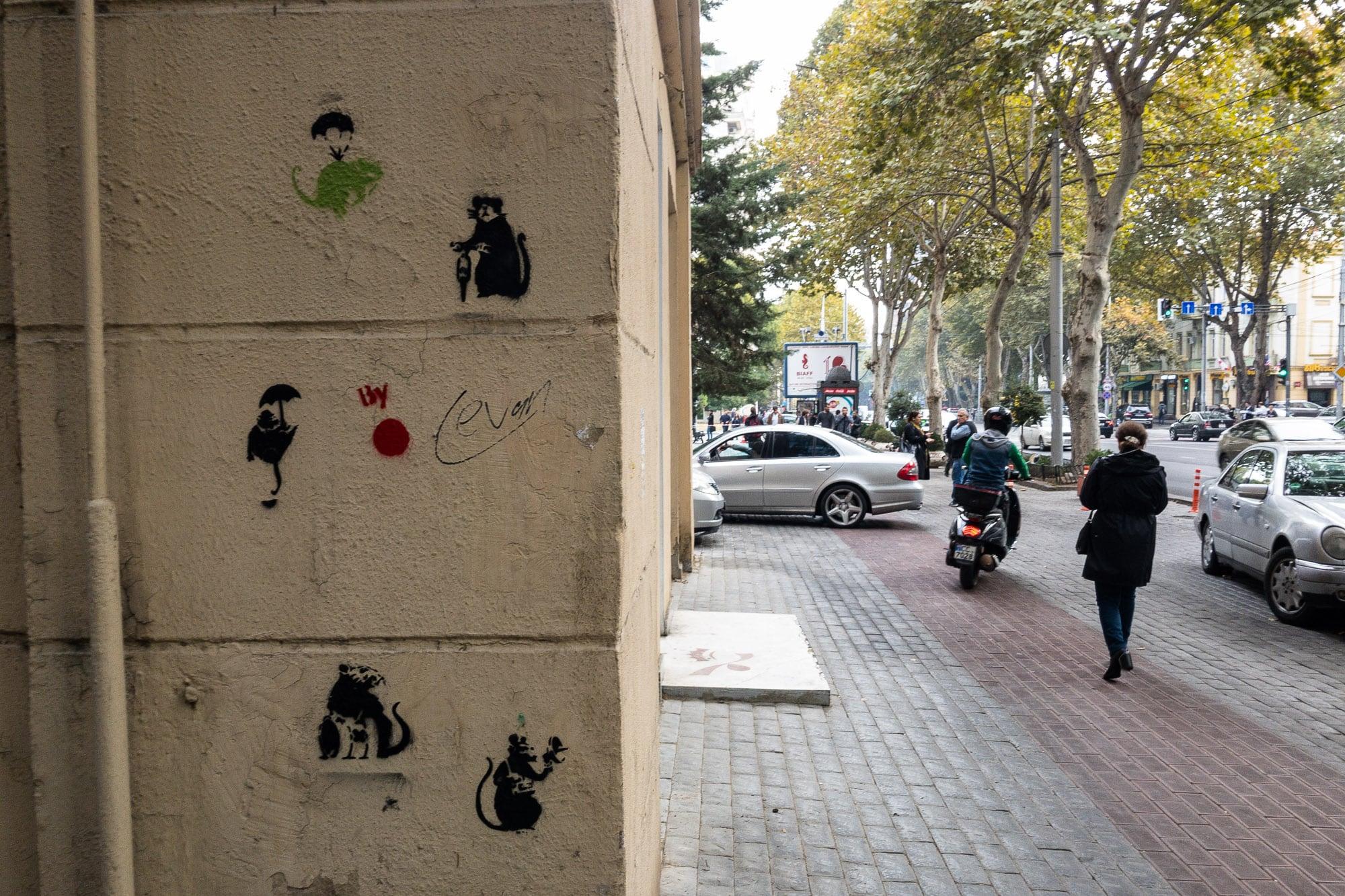 Tbilisi graffiti