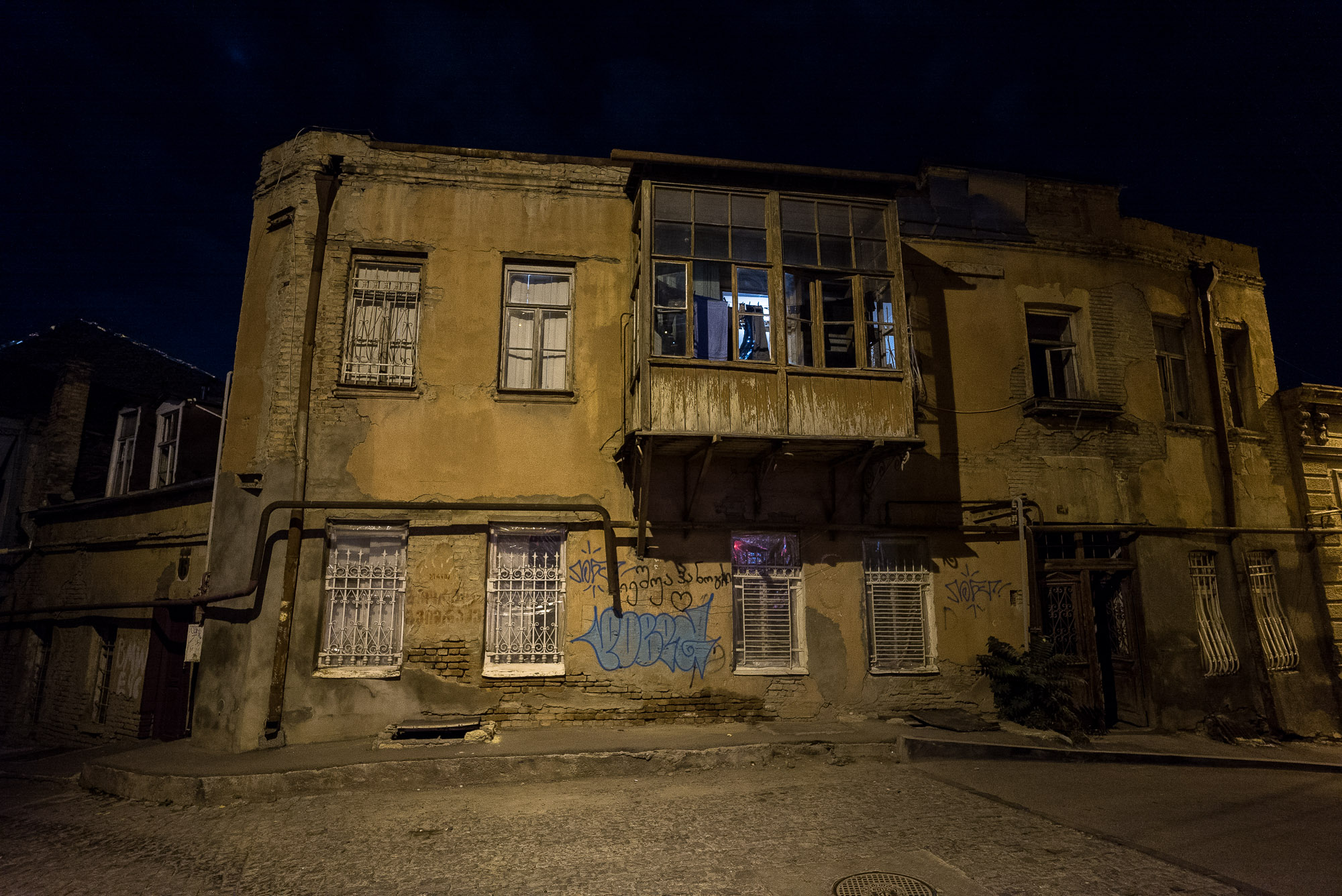 back street in Tbilisi