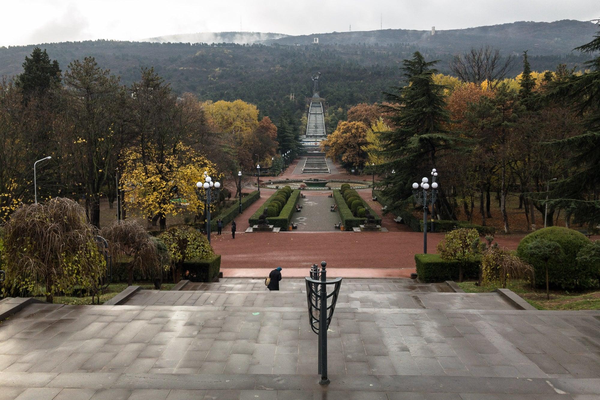 park in Tbilisi