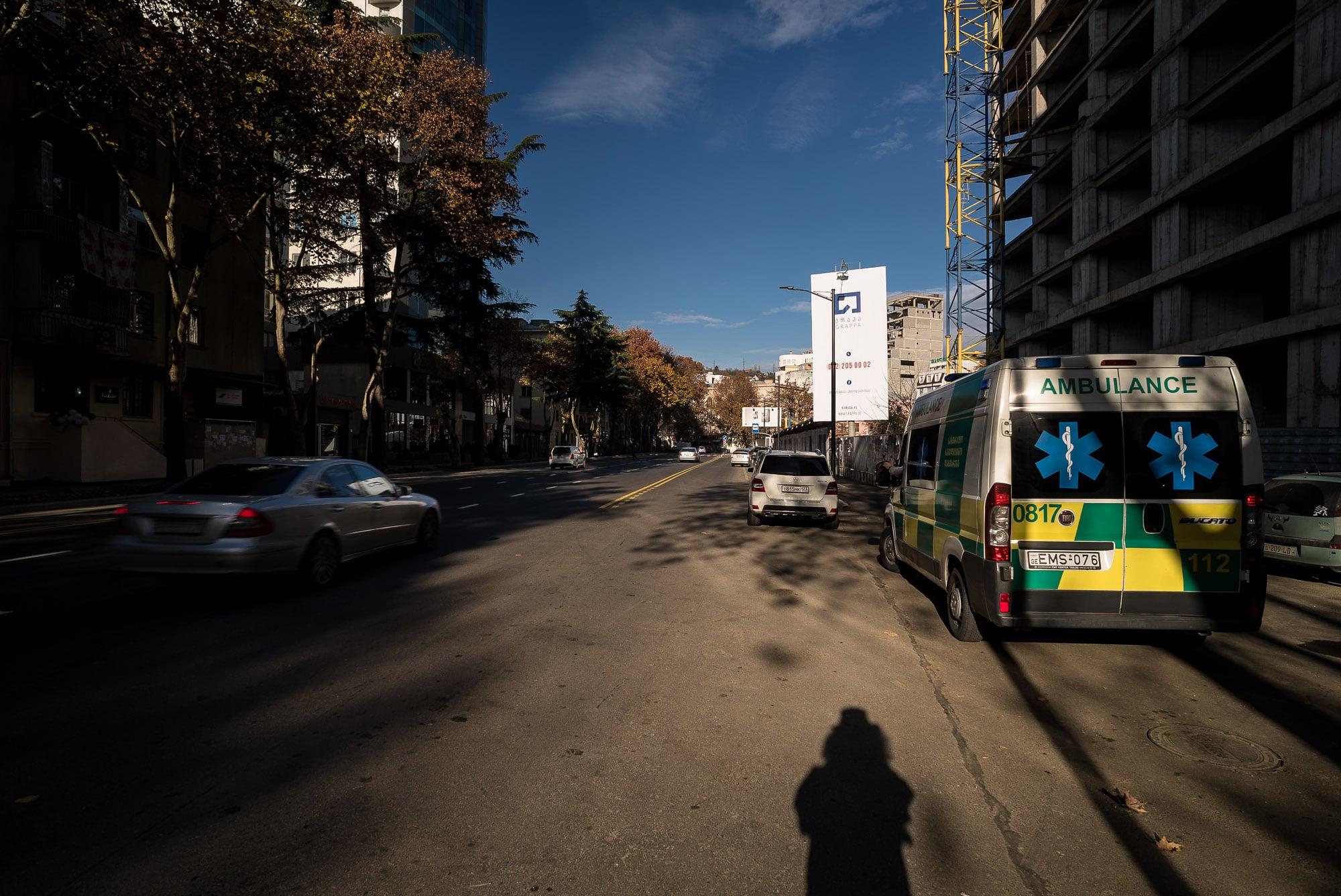 leaving Tbilisi