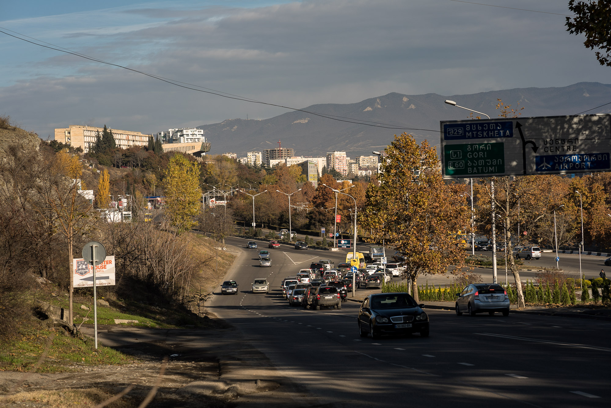 traffic in Tbilisi