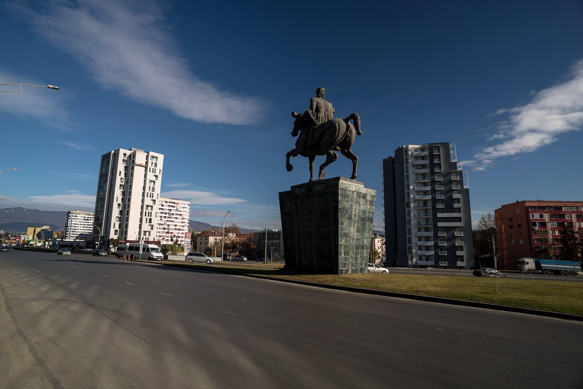 monument in Tbilisi