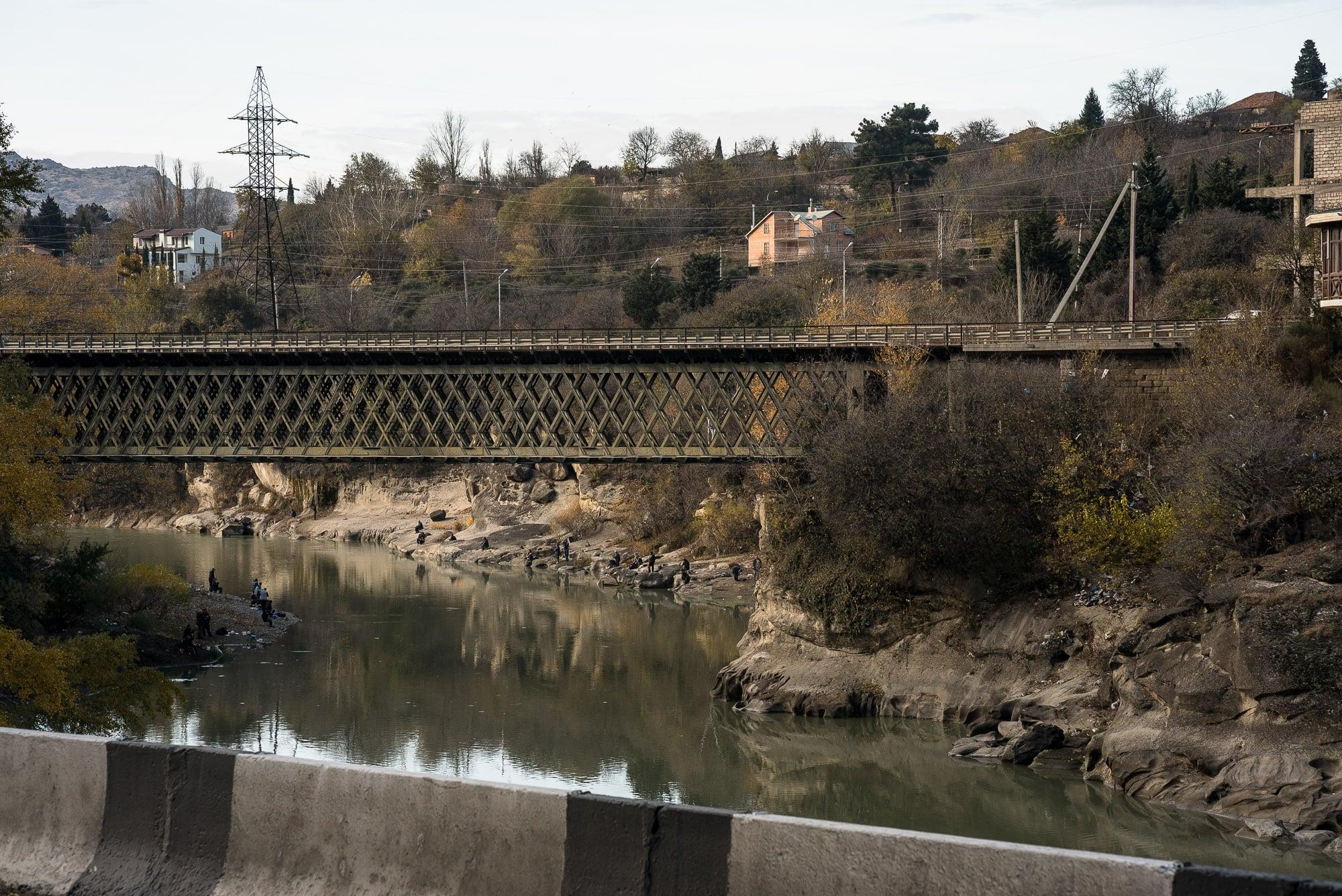 bridge near Tbilisi