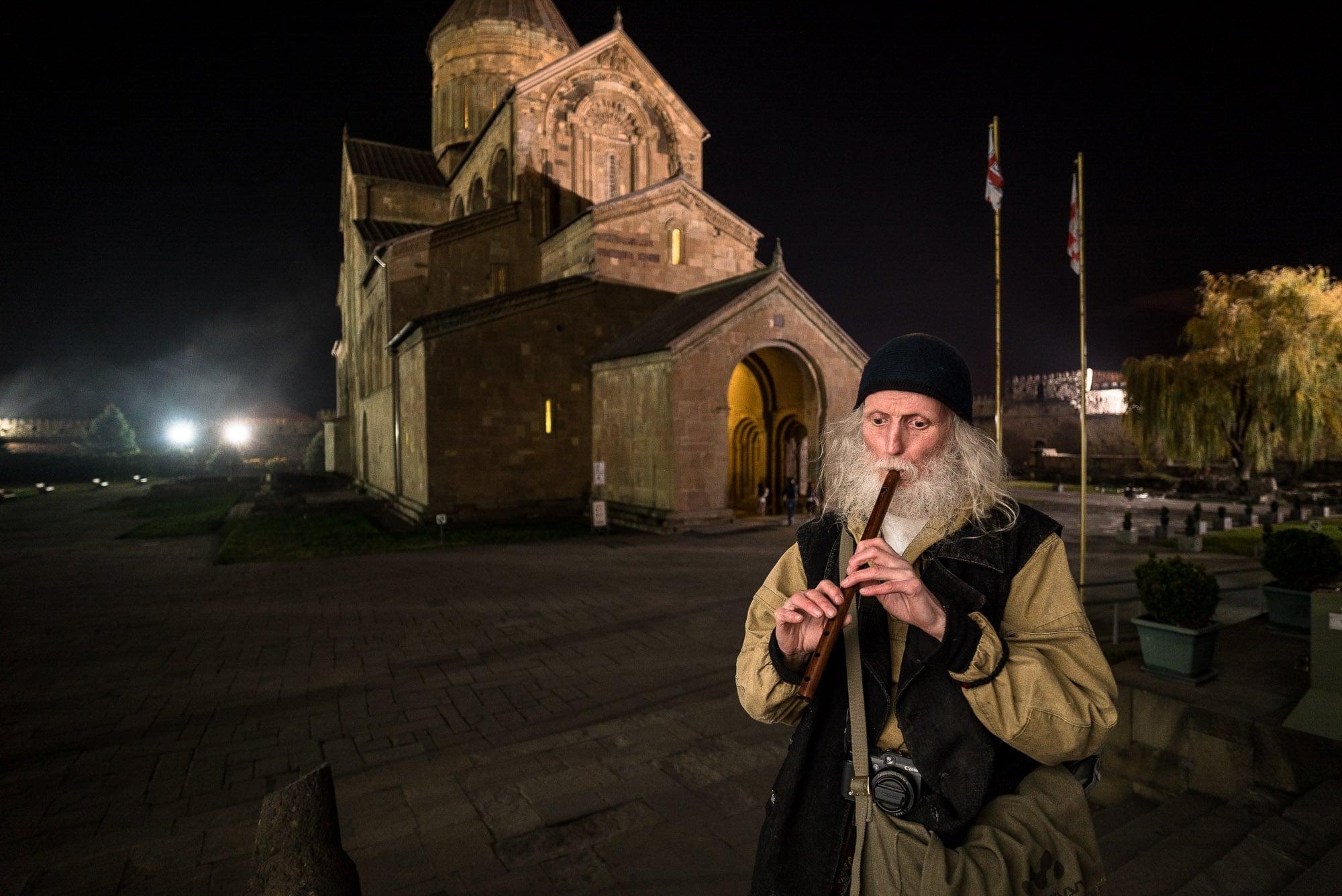 Aleksey in Mtskheta
