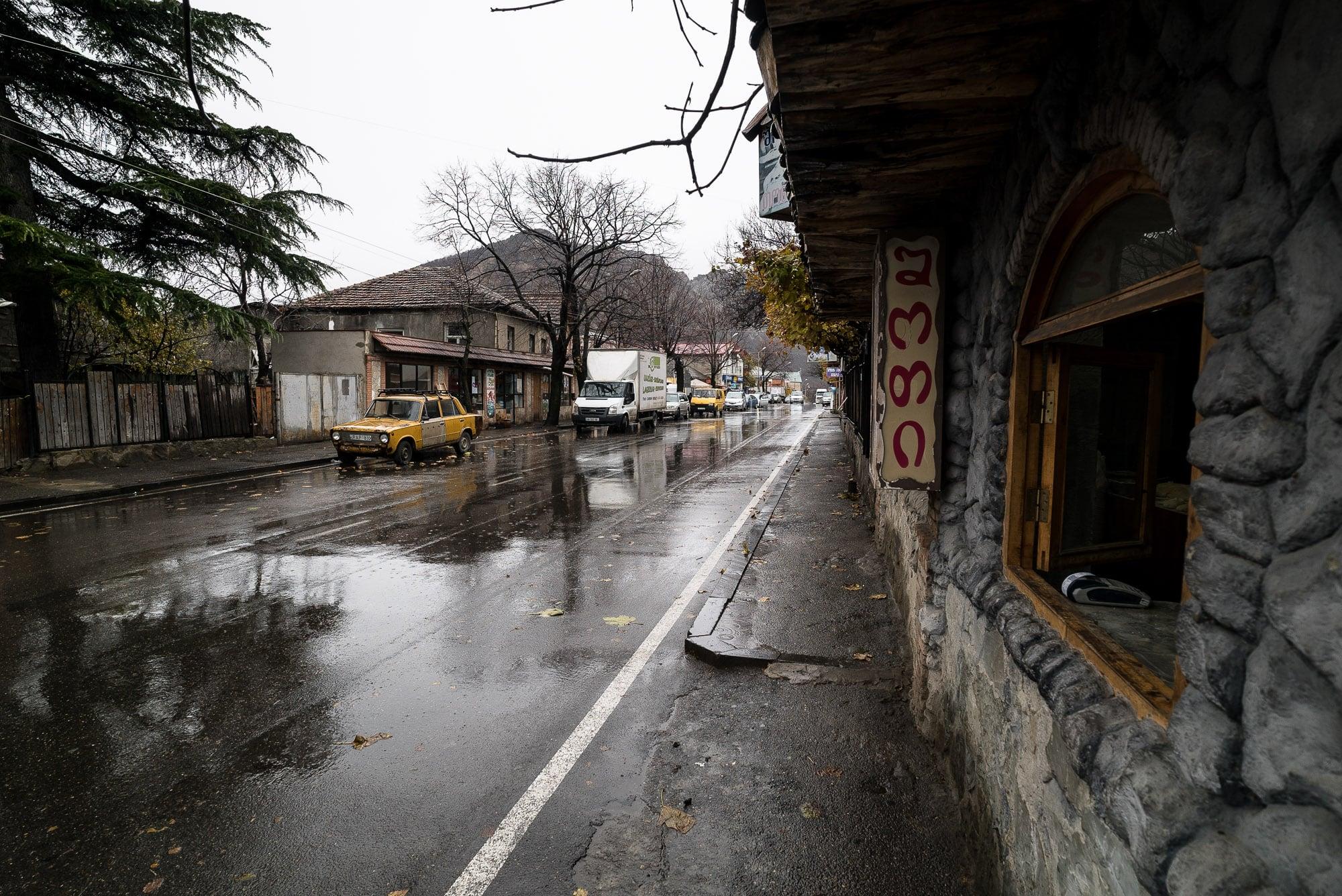 rain in Mtskheta