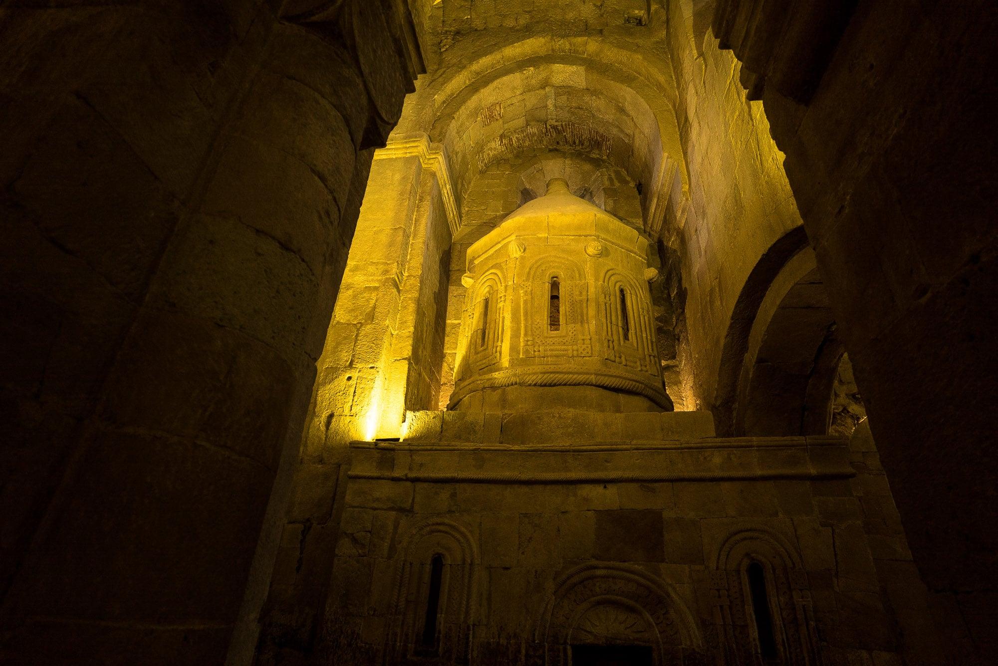 detail in Mtskheta Cathedral