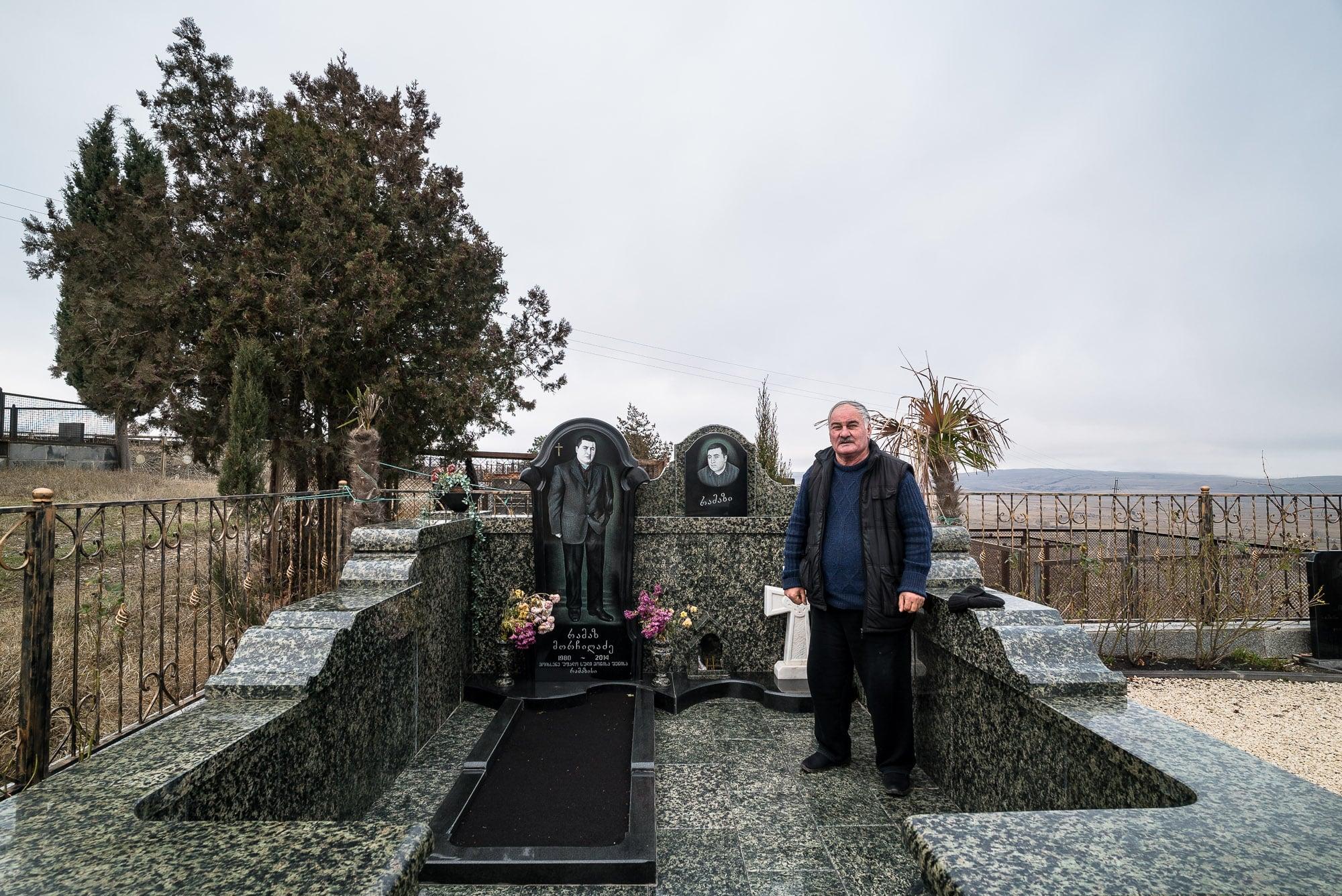 Ramazi's grave