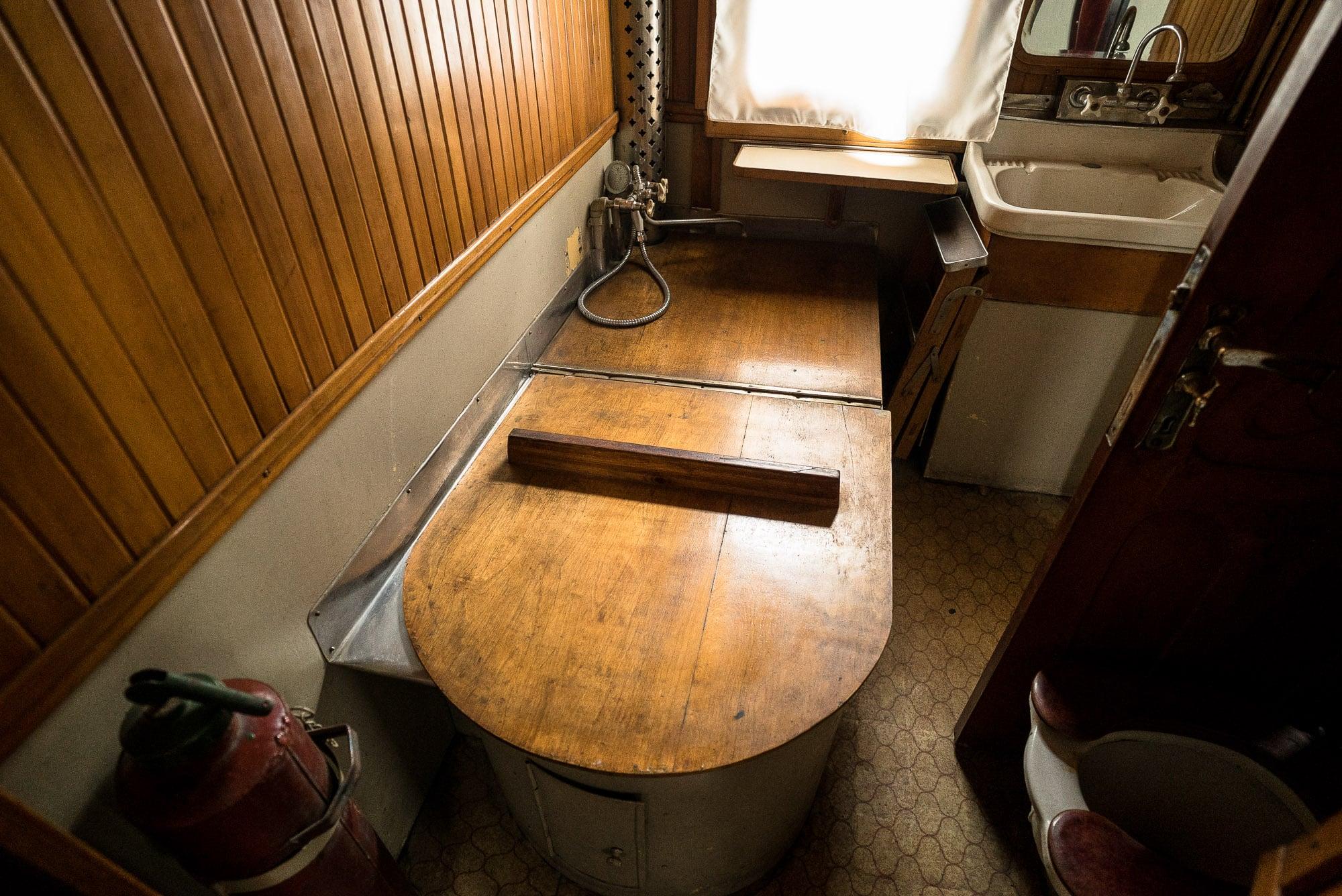Stalin's bath tub on his train