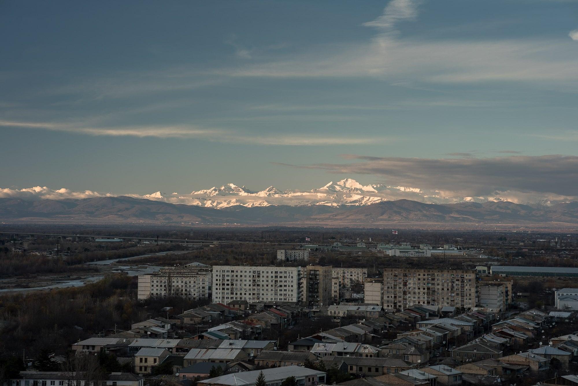 mountain view in Gori