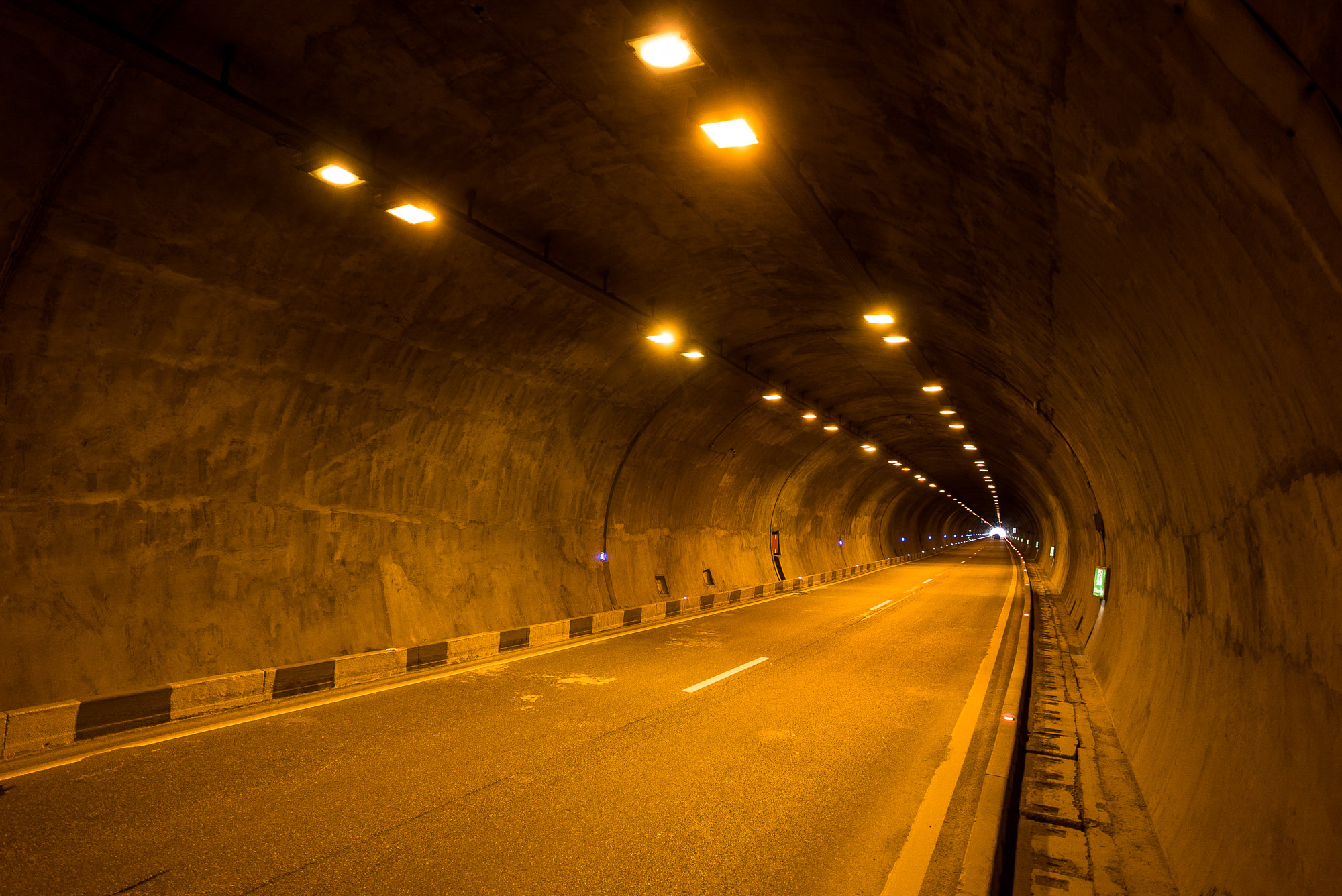 tunnel near Gori