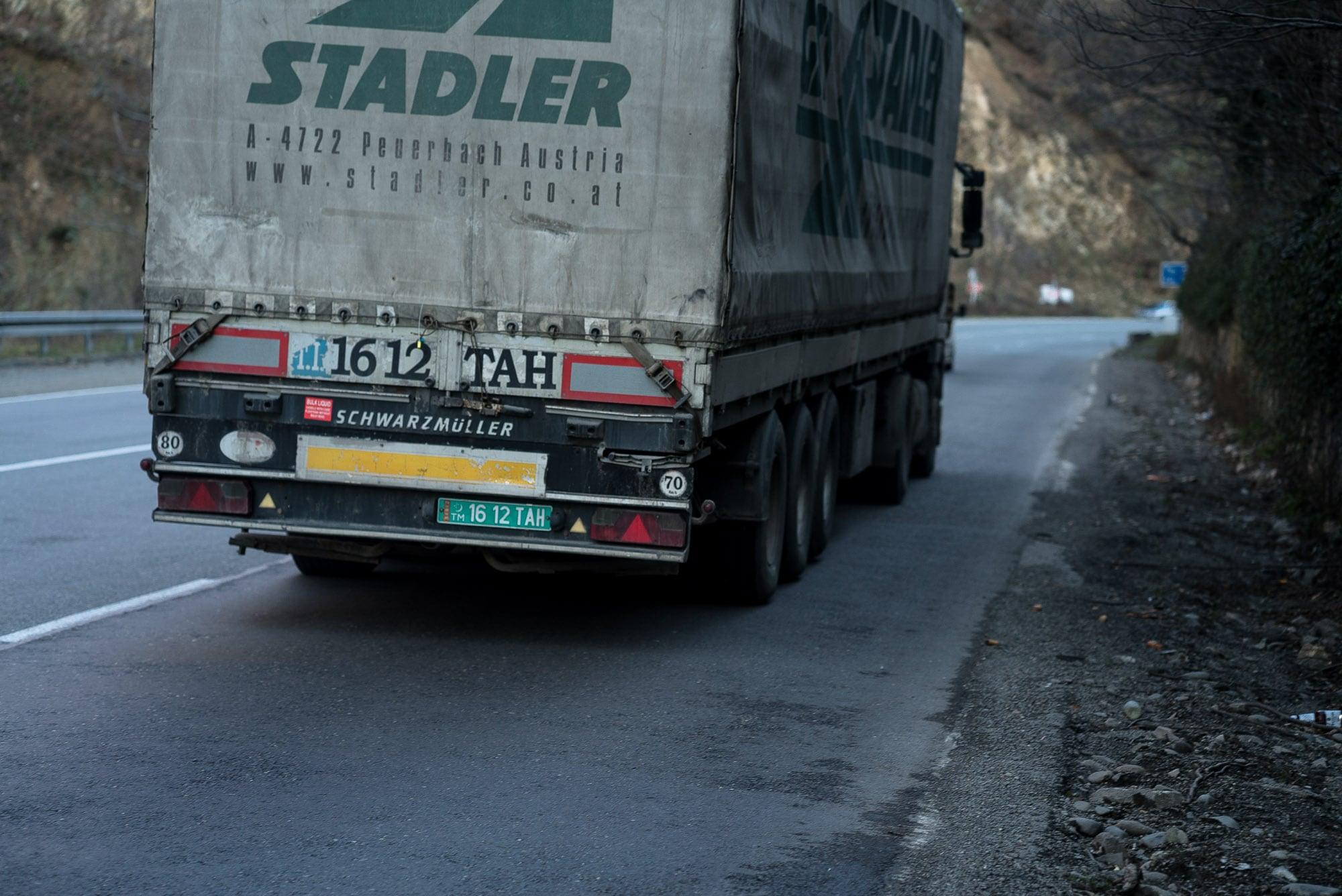 Turkmen truck
