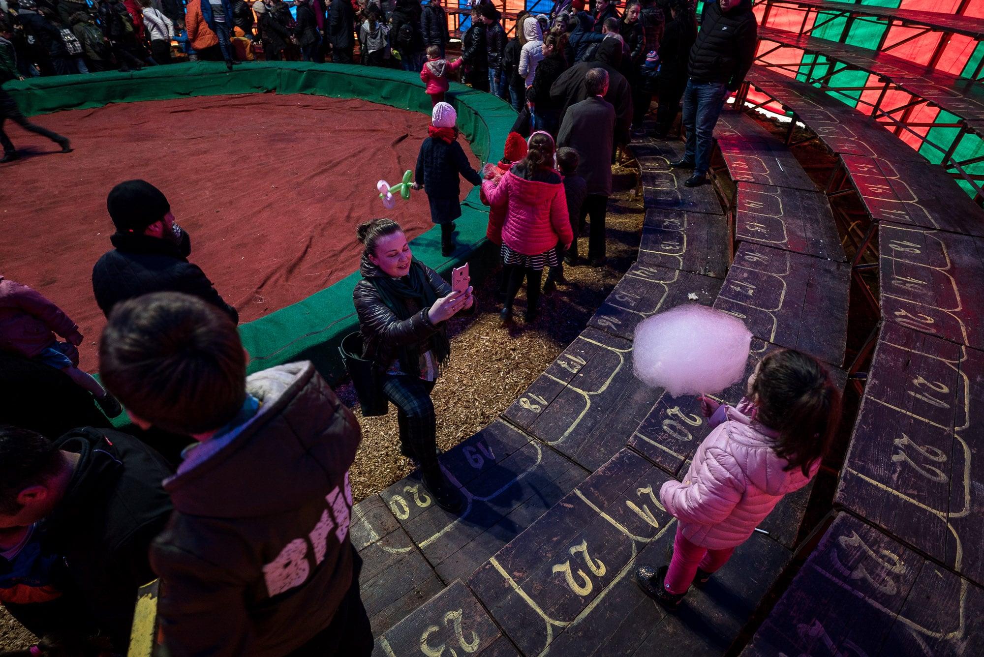 photos at the circus