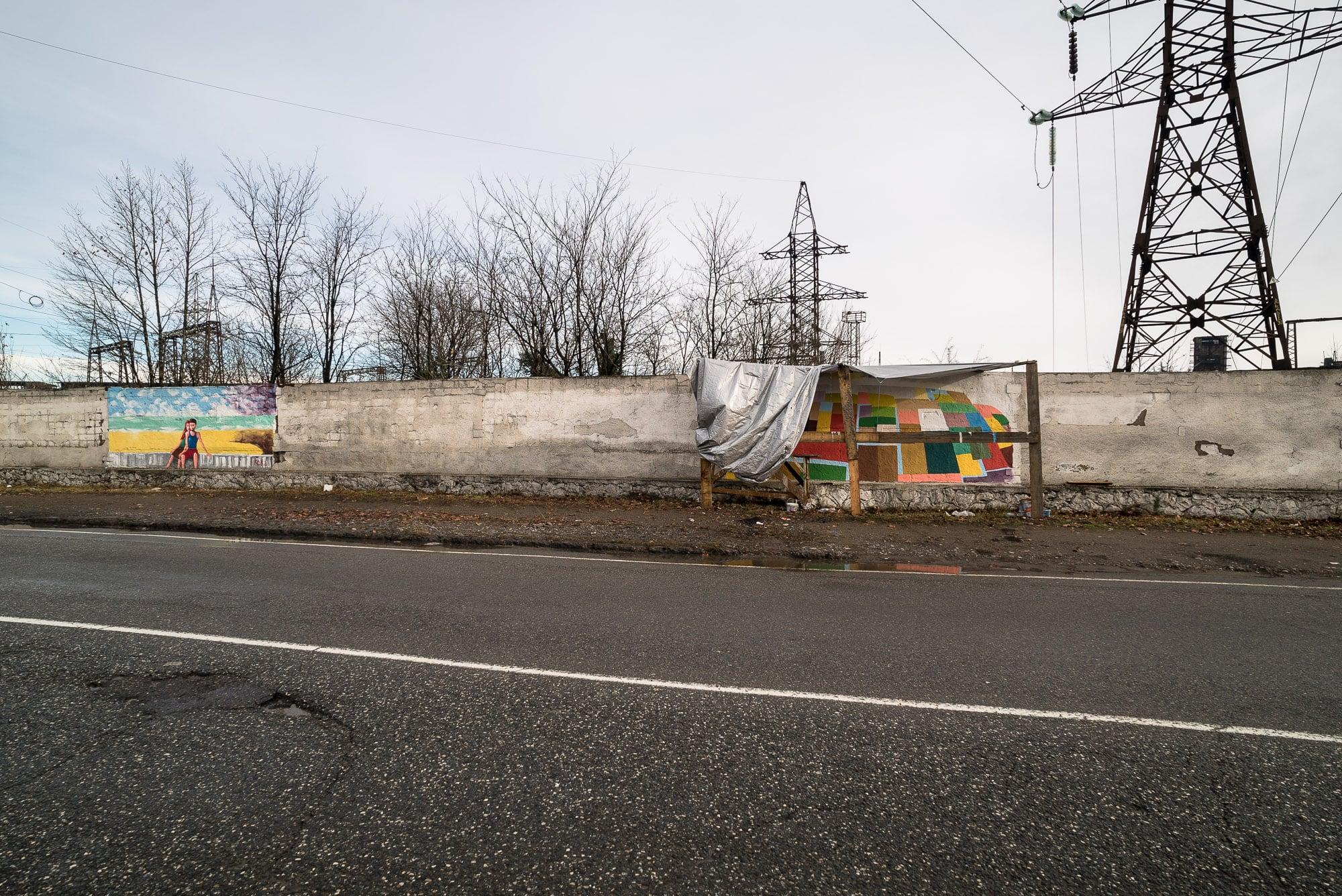 roadside murals