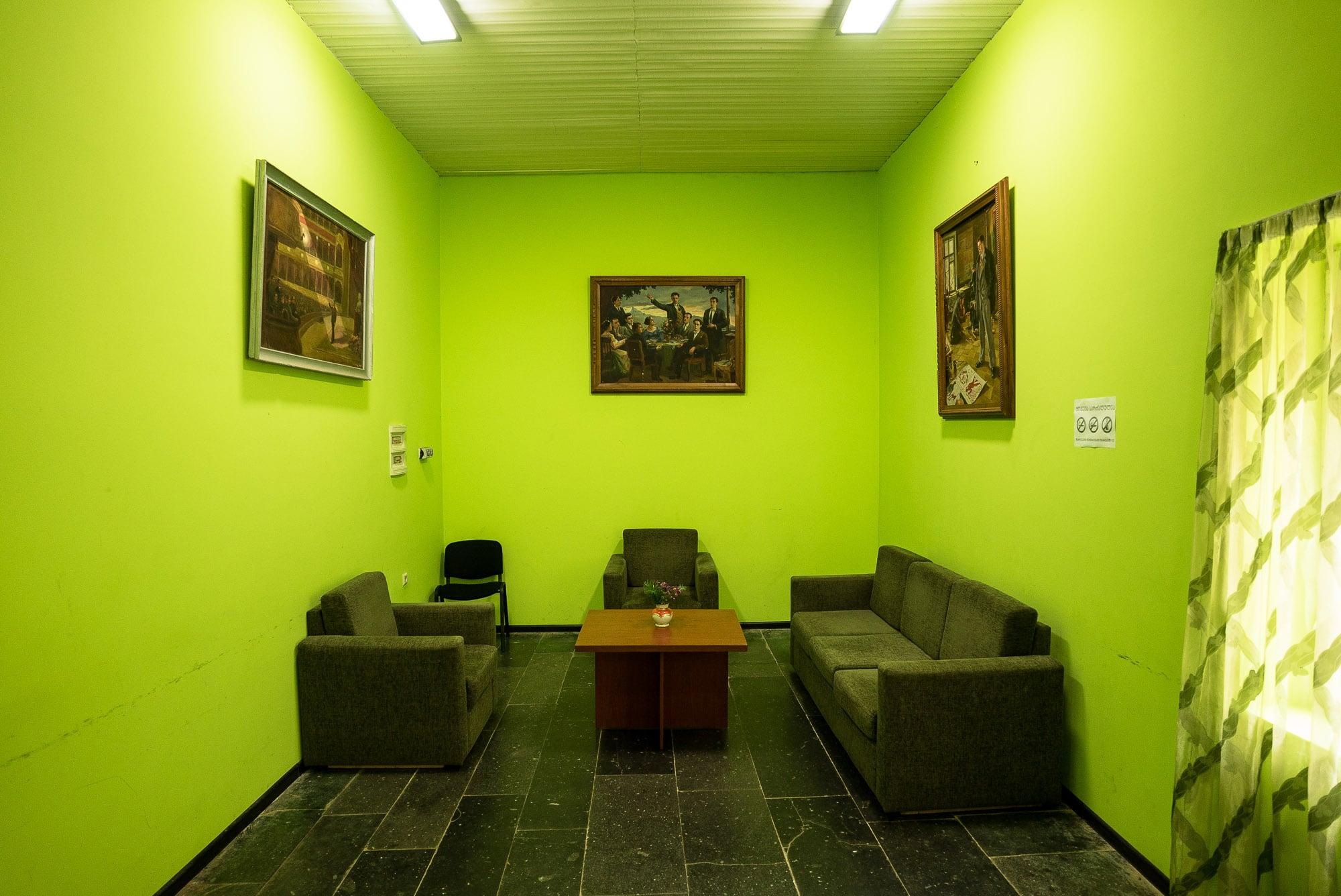 inside the Mayakovsky museum