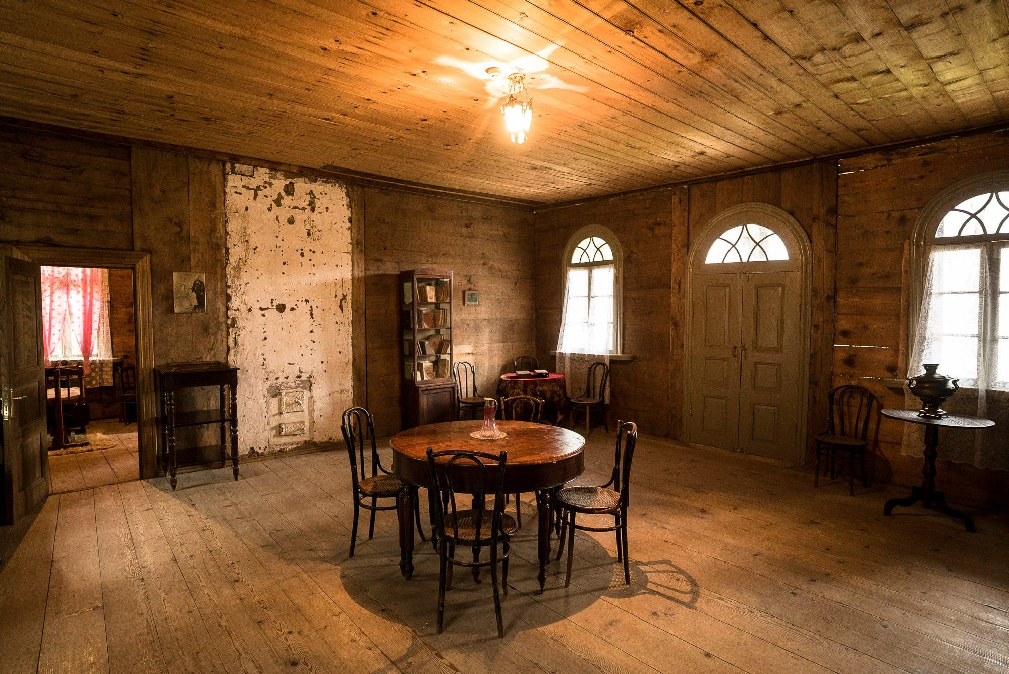 living room in Mayakovsky's house