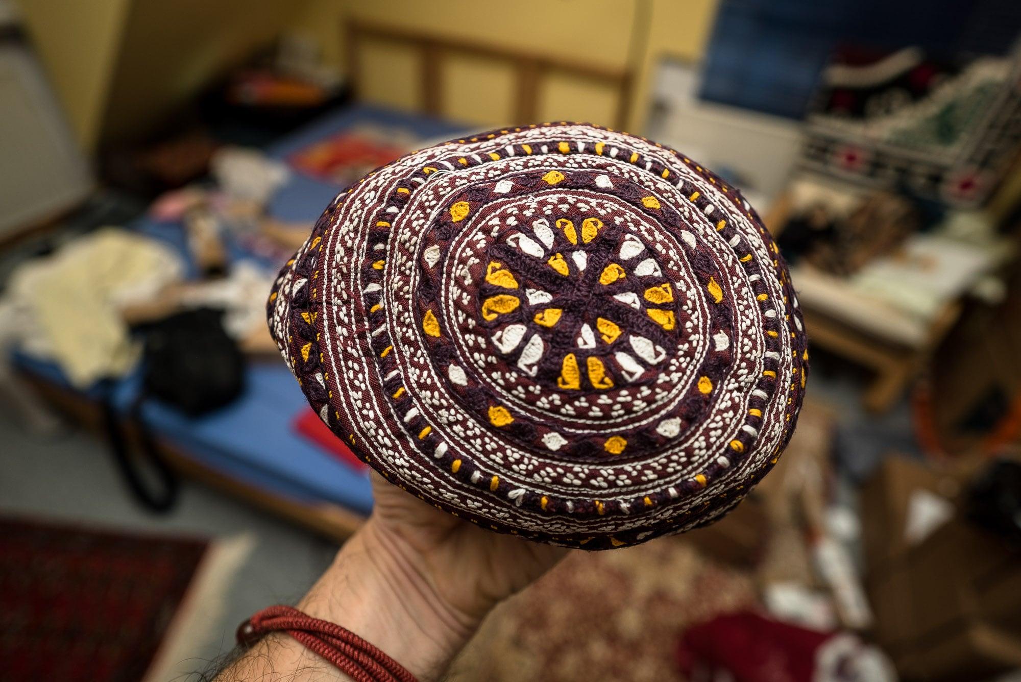 Turkmen cap