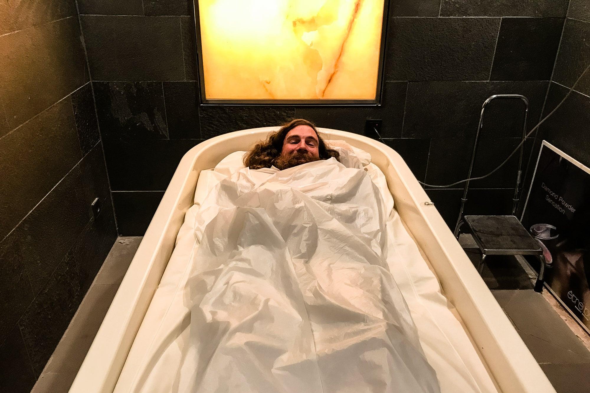 mud bath therapy