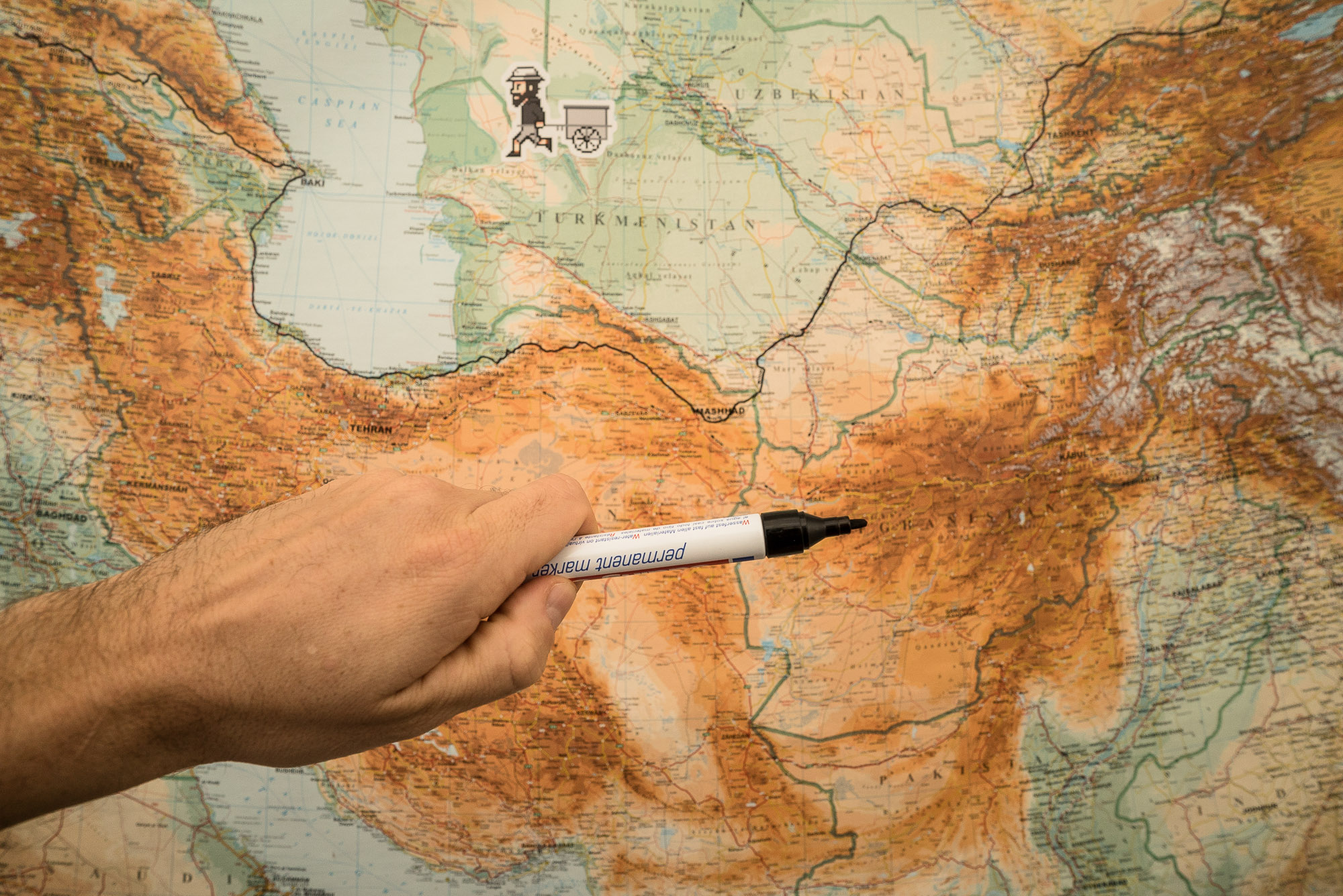 TLW map pen