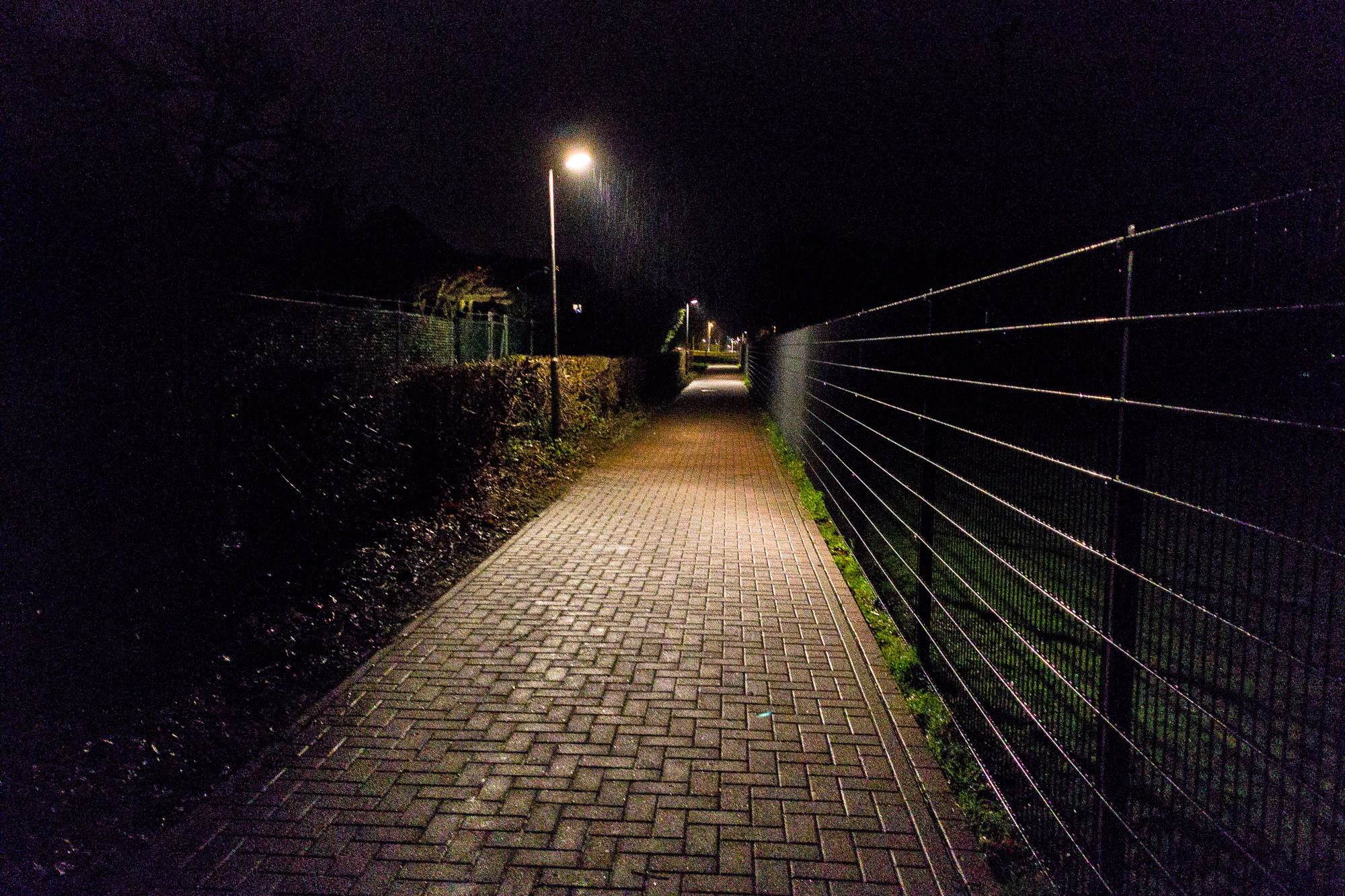 darkness in Bad Nenndorf