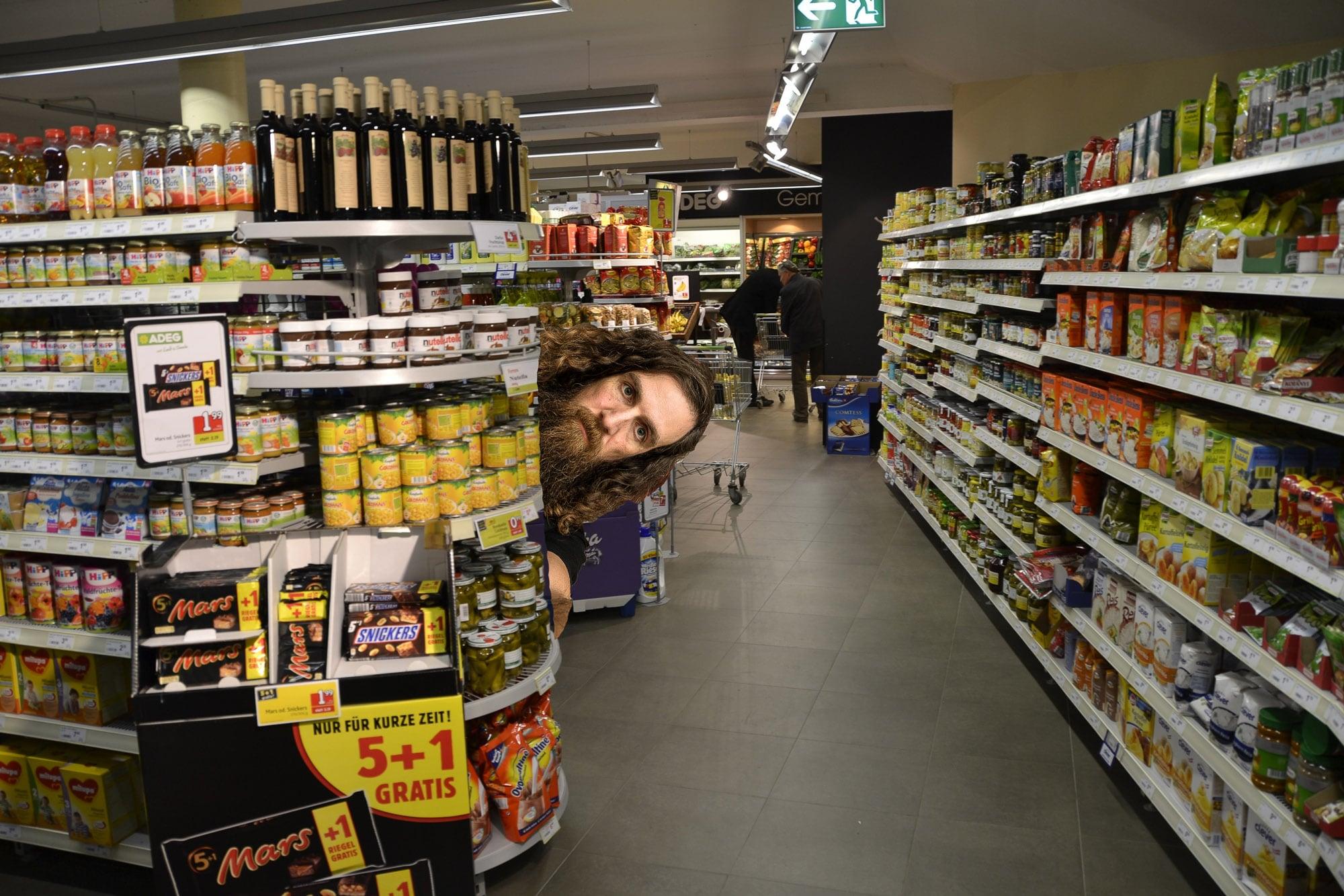real supermarket