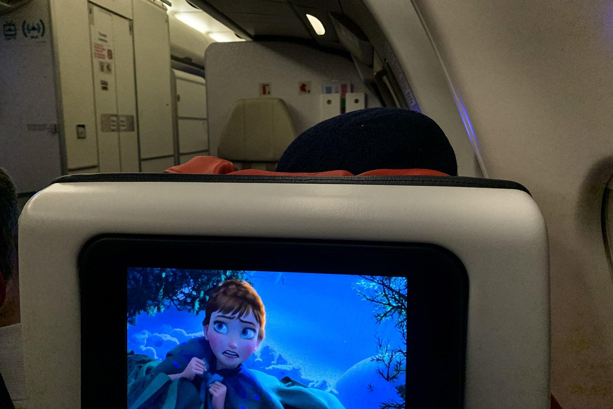 airplane to Tehran