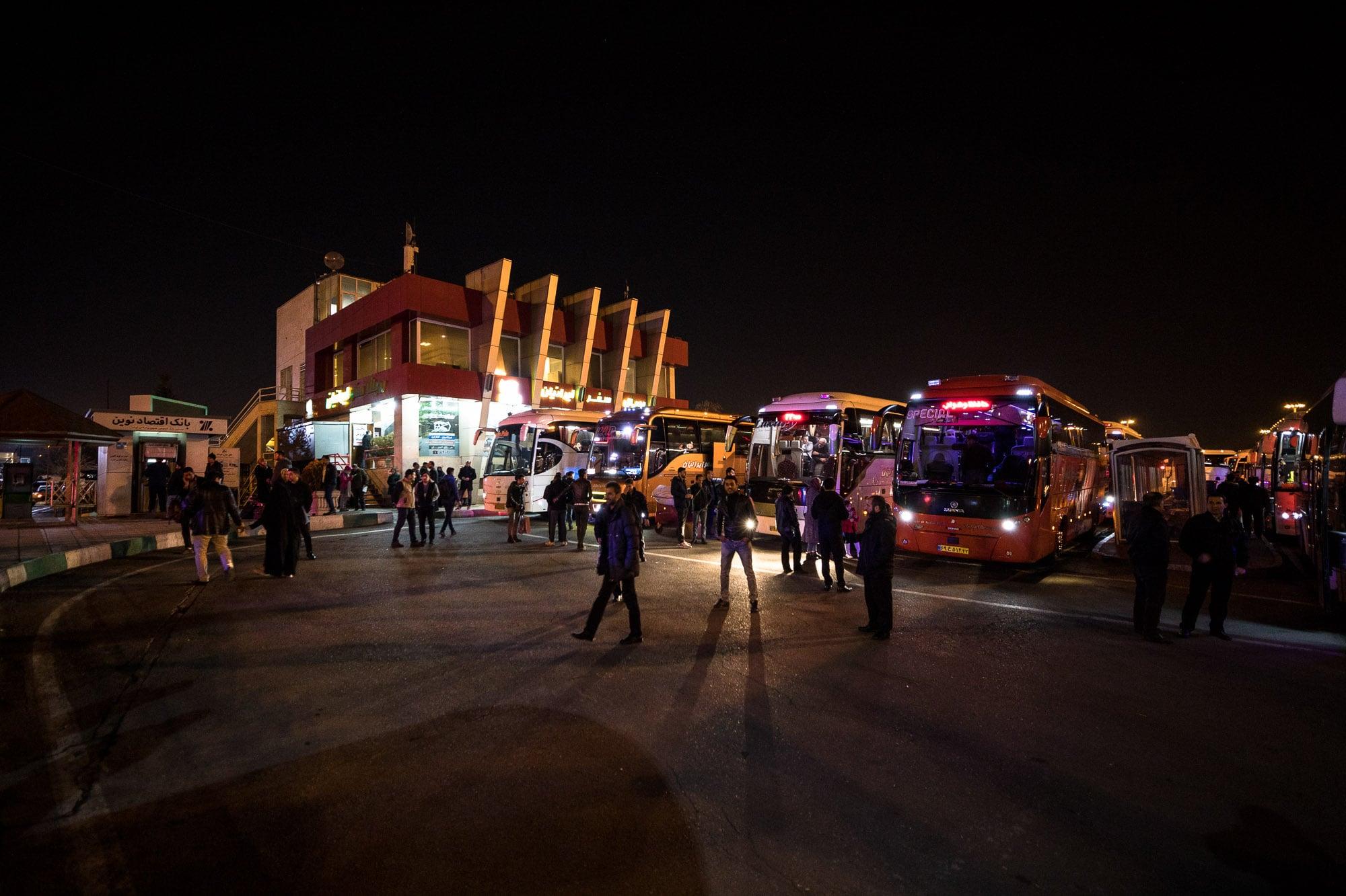 Tehran bus station