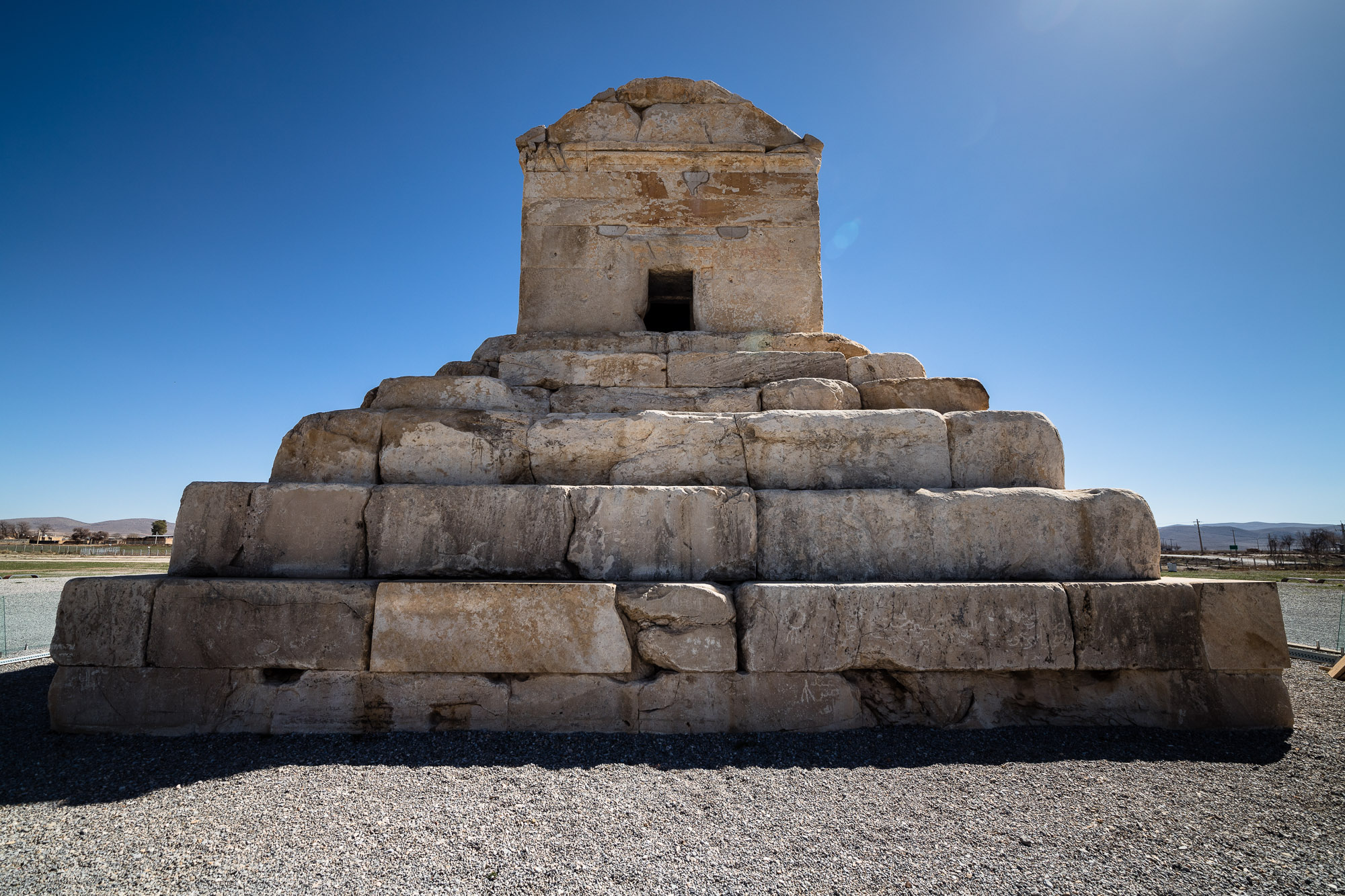 front of the Tomb of Cyrus