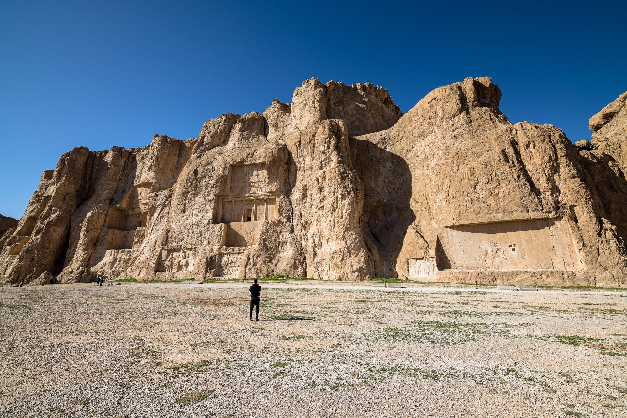 Tomb of Darius at Naqsh-e Rustam