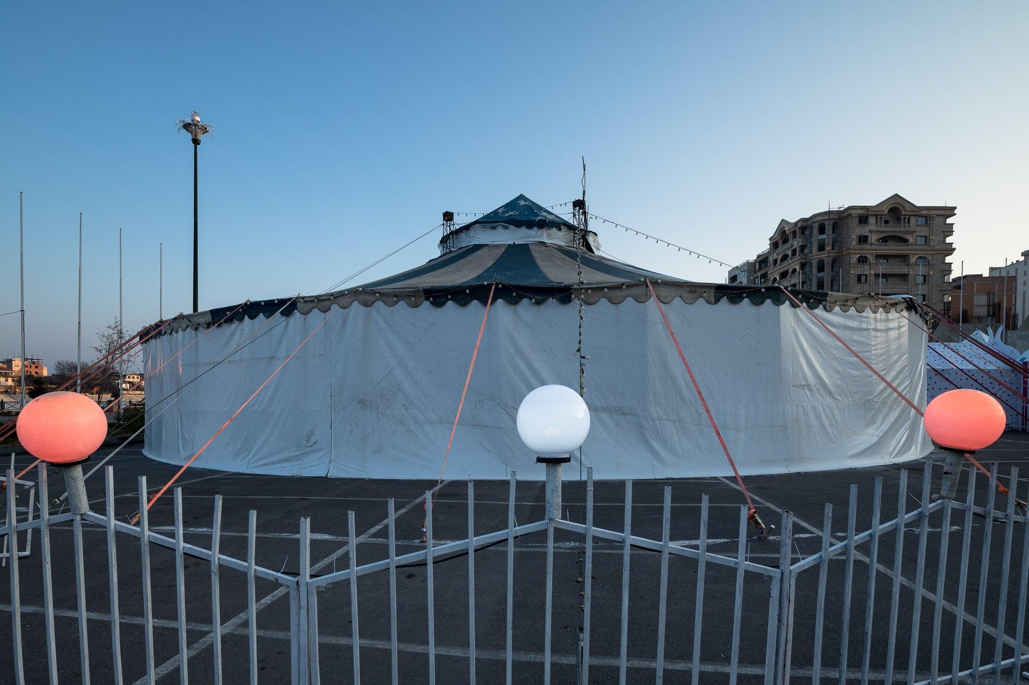 circus in Sari