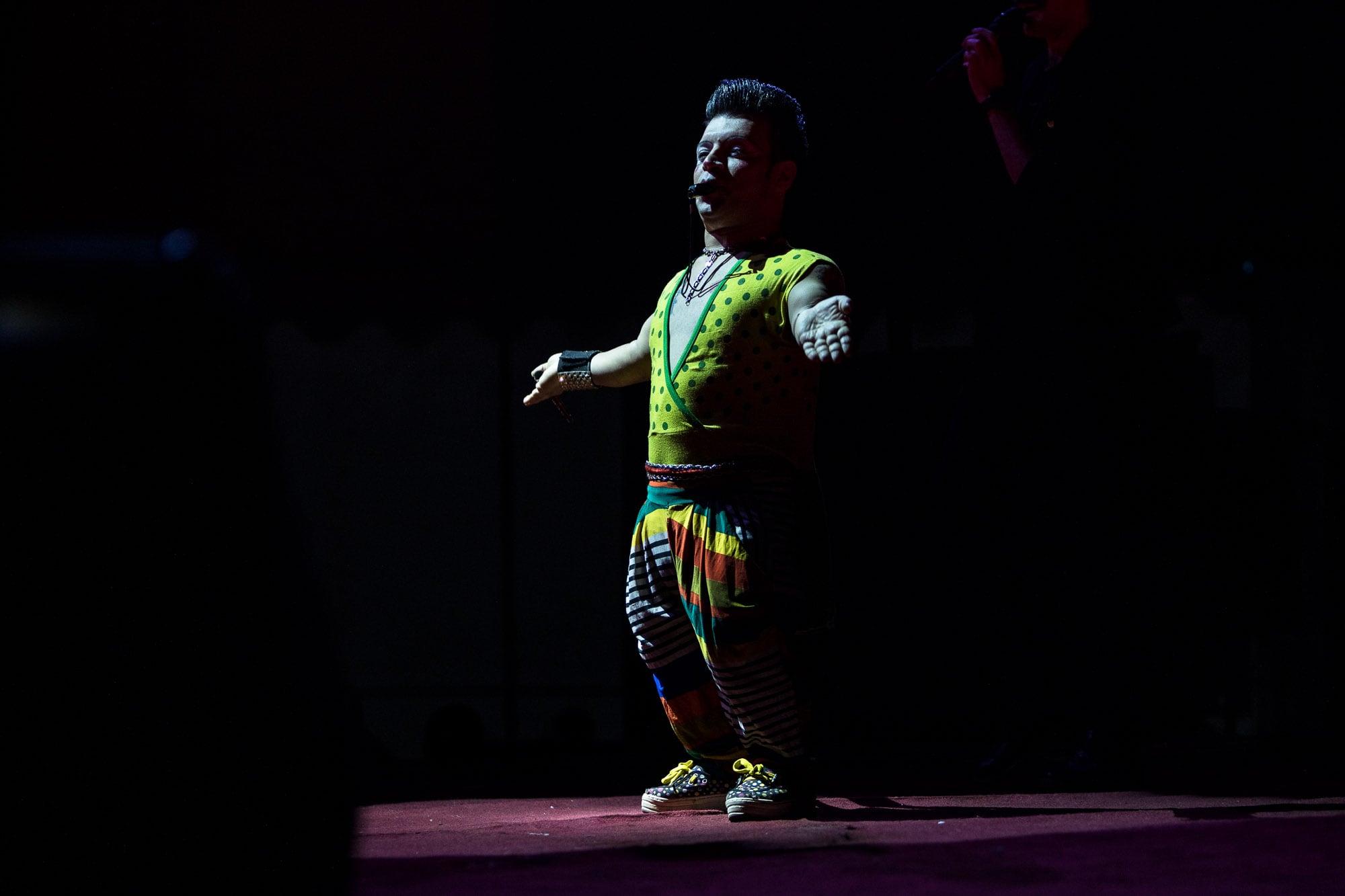 Iranian clown