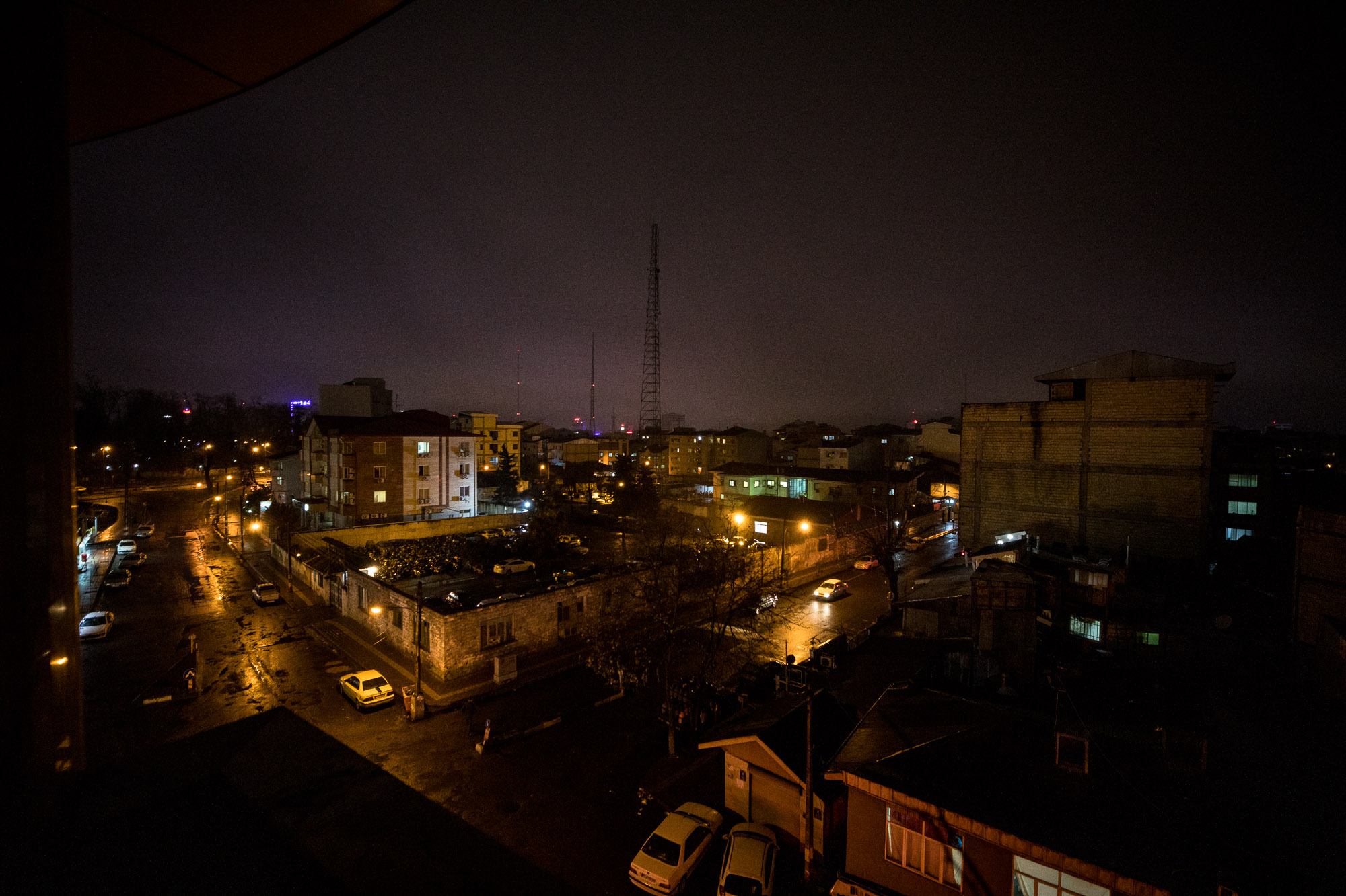Rasht at night