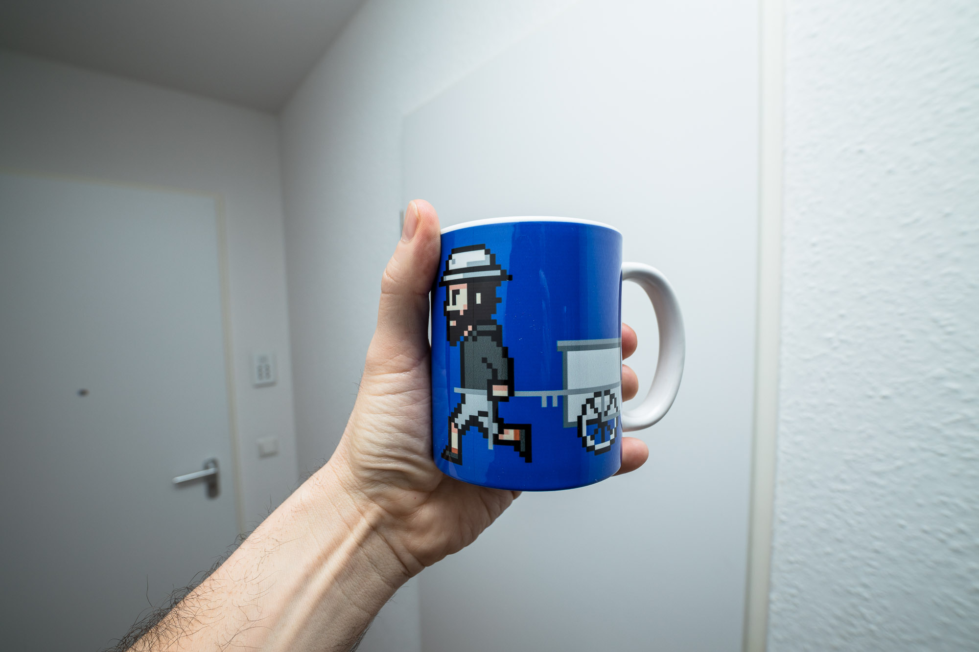 The Longest Pixel Mug