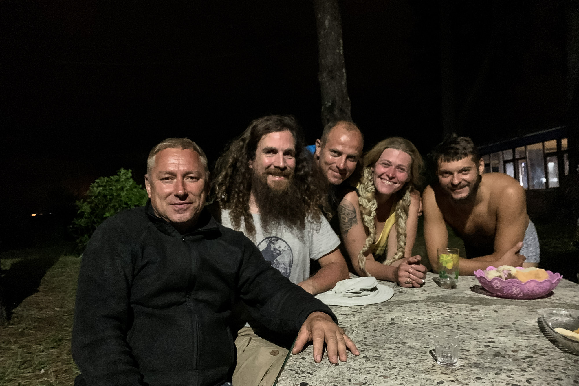 friendly Russians