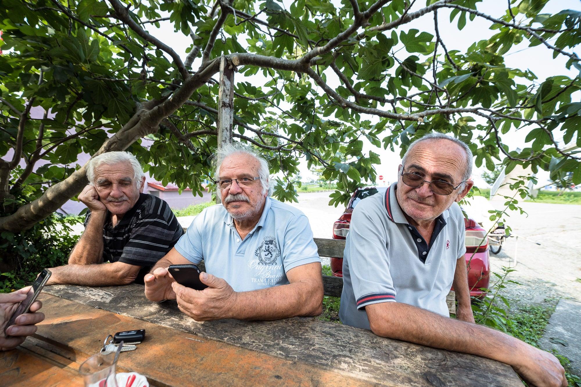 Erkan's friends