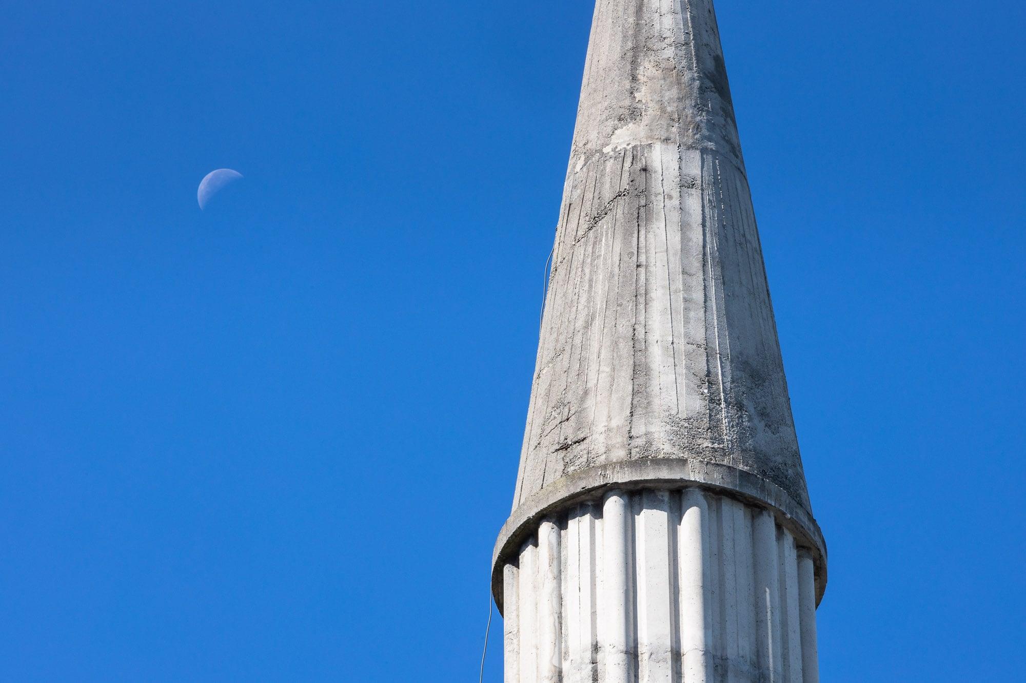 moon and minaret
